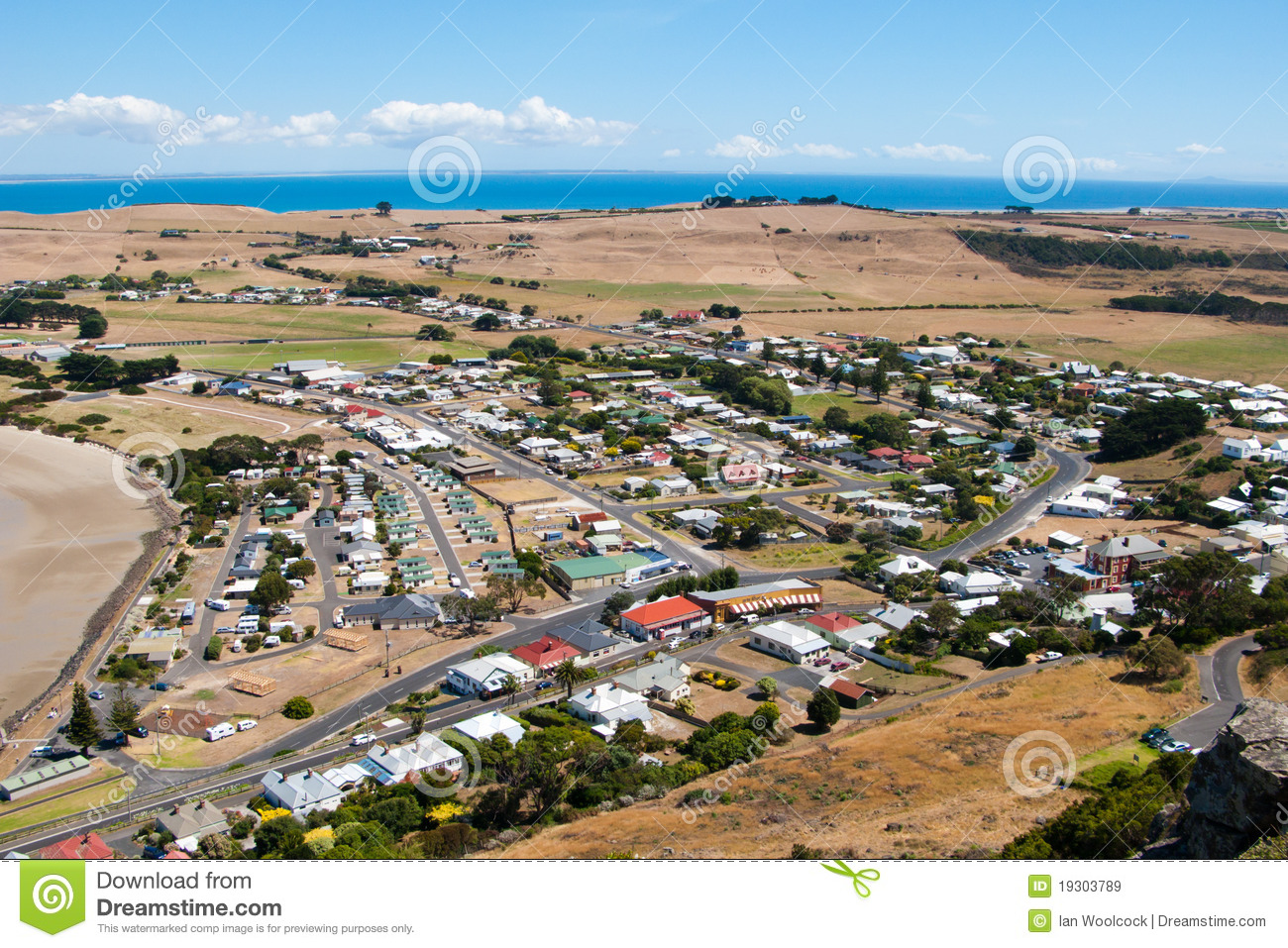 Stanley tasmania stock image image of towns tranquil for Stanley home design software free download