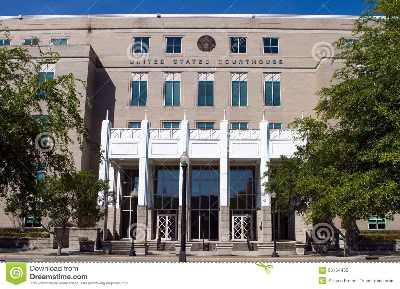 Stany Zjednoczone gmach sądu Pensacola