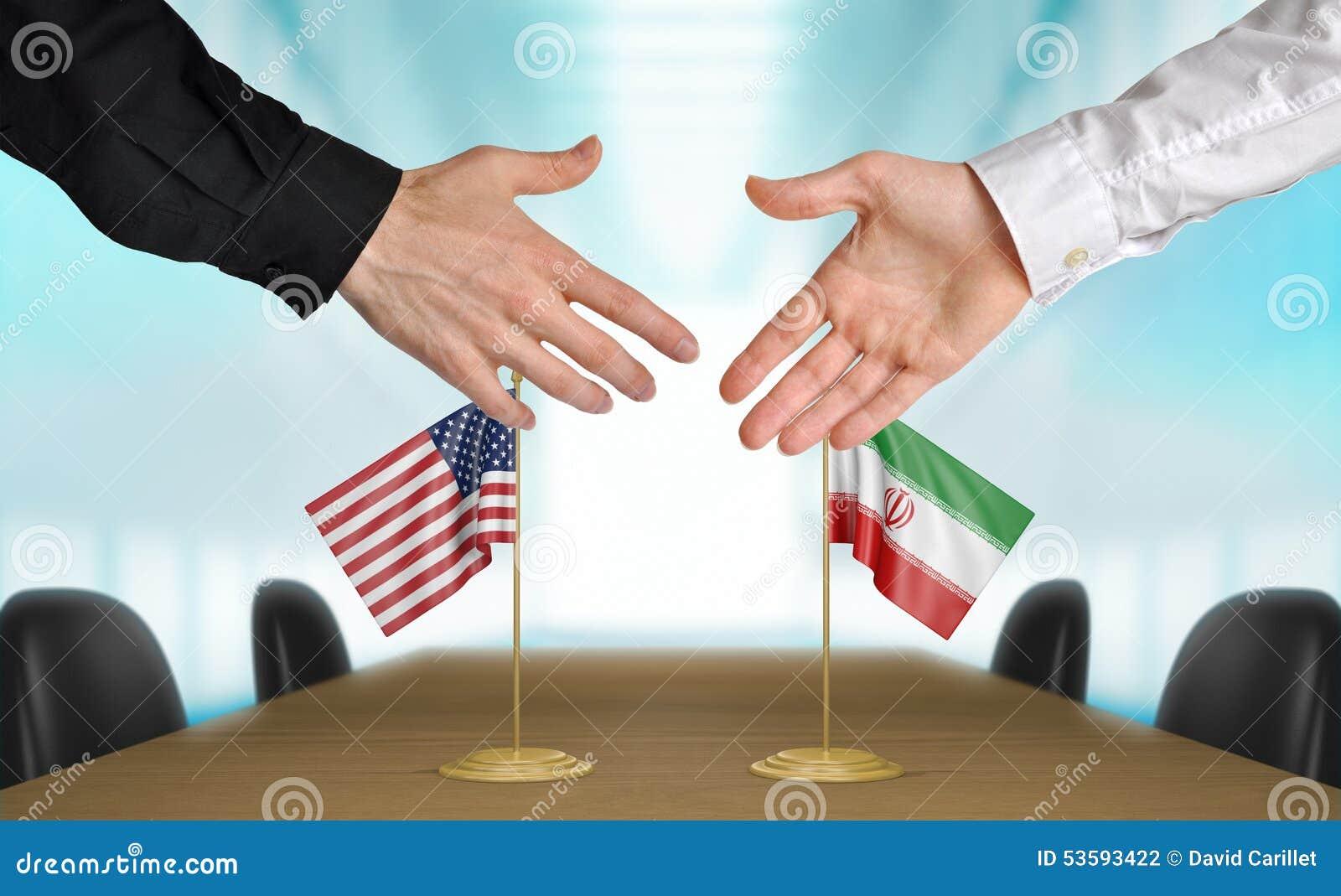 Stany Zjednoczone i Iran dyplomaci ono zgadza się na transakci