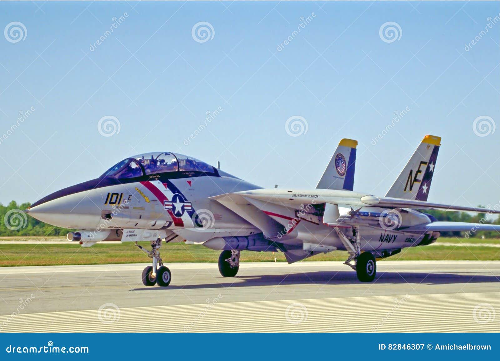 Stany Zjednoczone marynarka wojenna F14 Tomcat