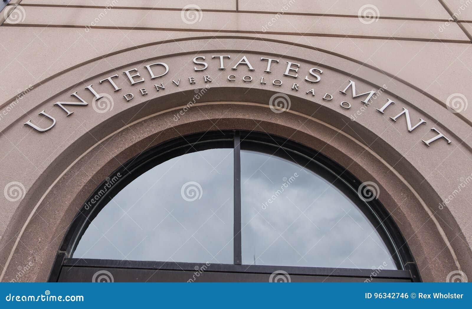 Stany Zjednoczone mennica w Denver