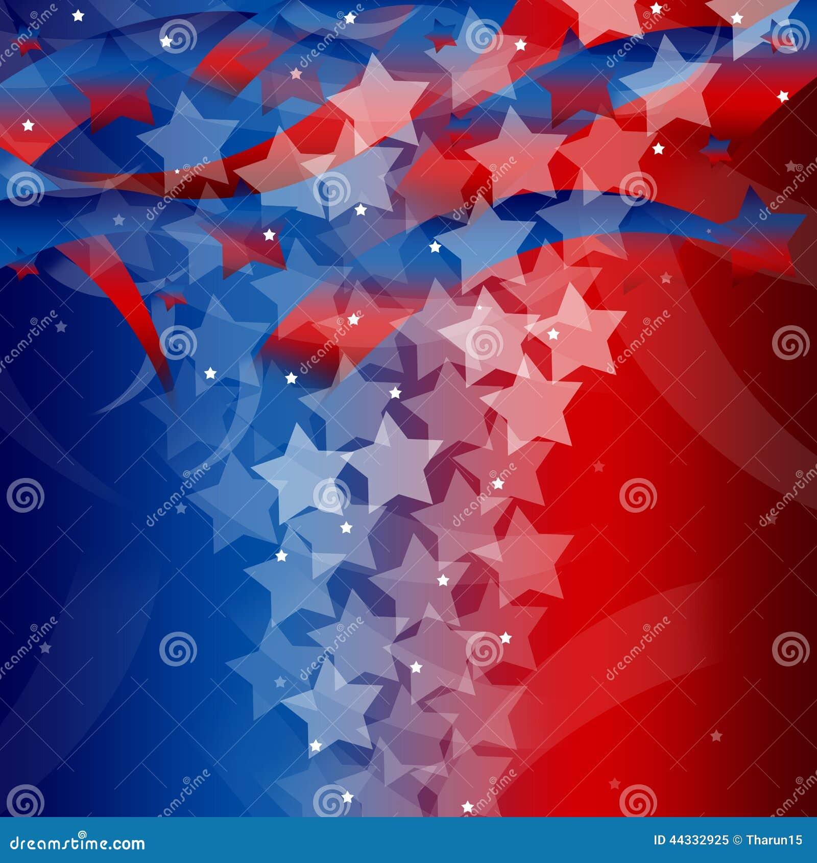 Stany Zjednoczone Patriotyczny tło
