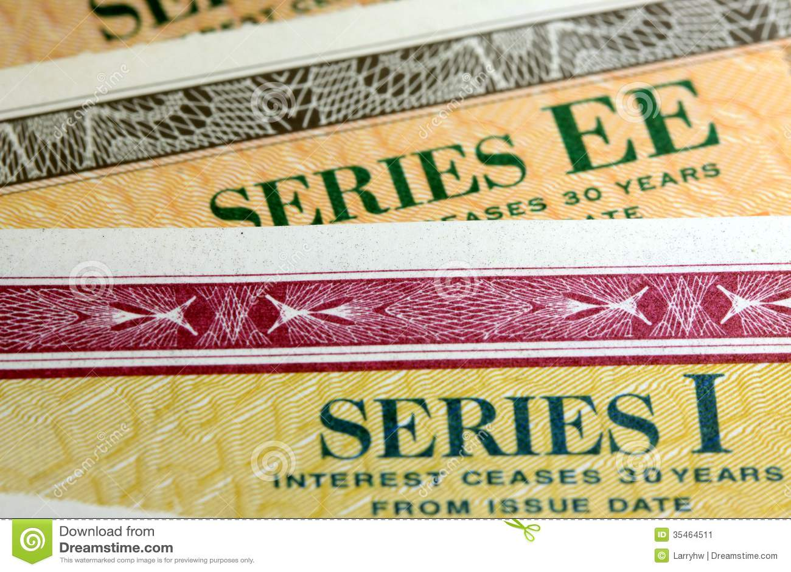 Stany Zjednoczone Savings więzi serie EE i serie - Ja