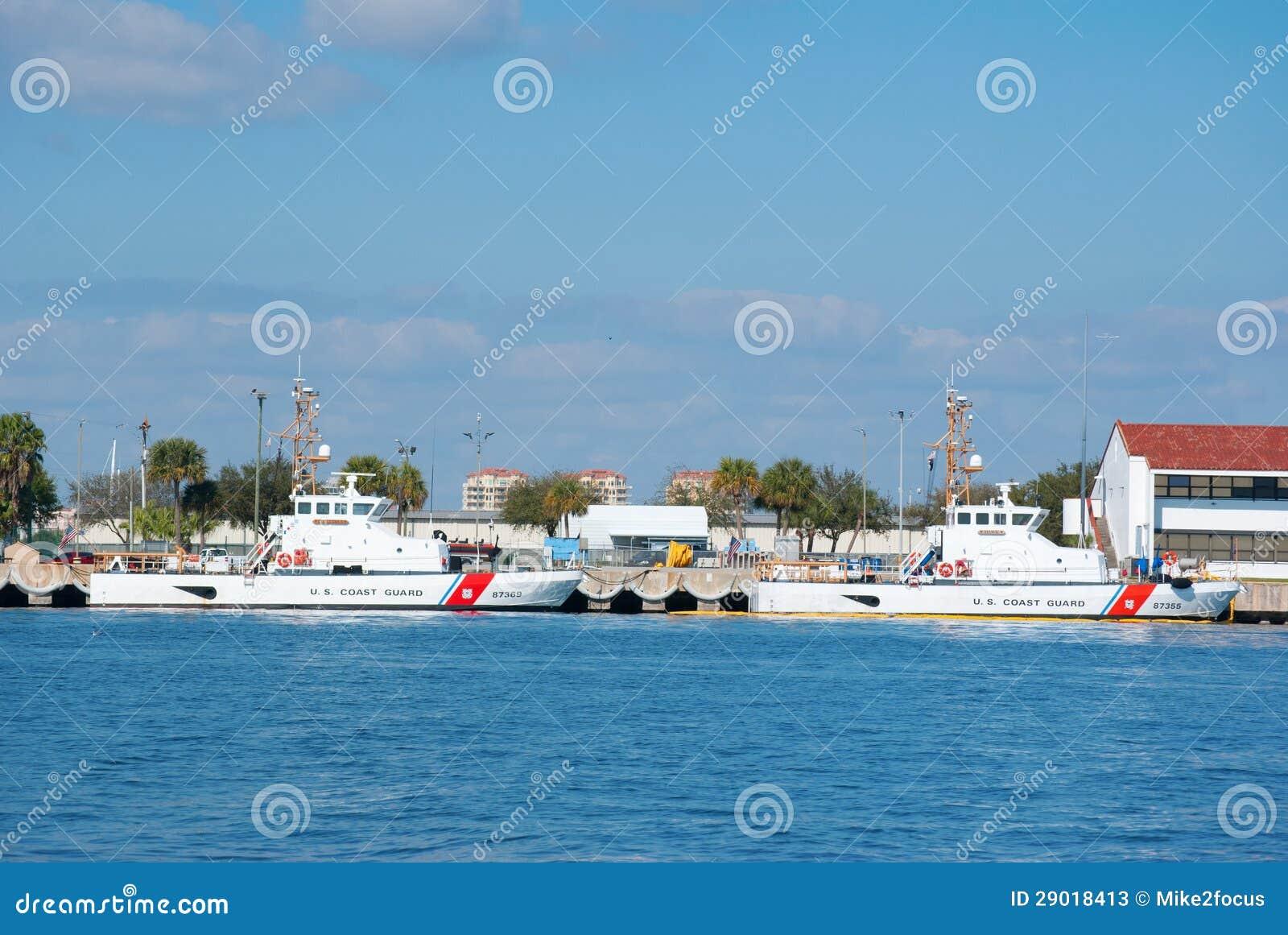 Stany Zjednoczone straży przybrzeżnej łodzi St. Pete Floryda
