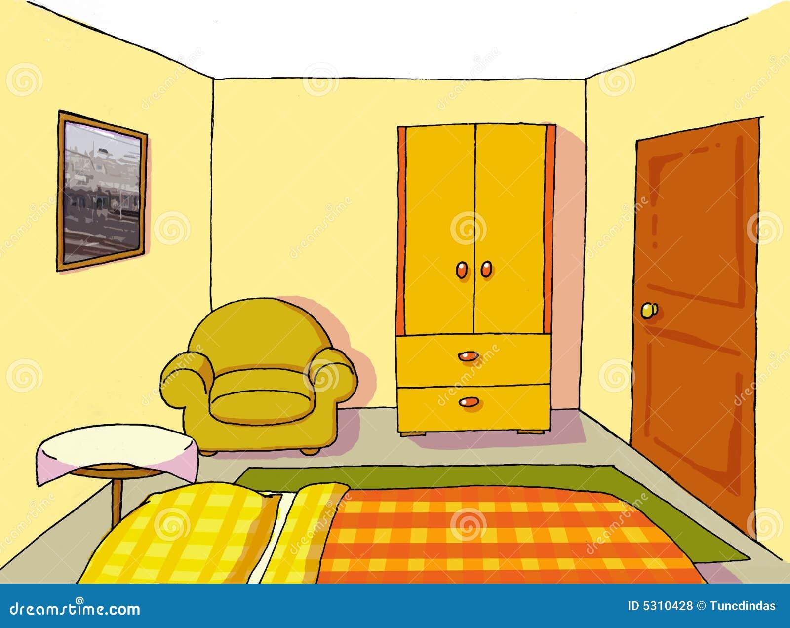 Download Stanza Adolescente Della Priorità Bassa 10 Illustrazione Vettoriale - Illustrazione di disegno, classico: 5310428