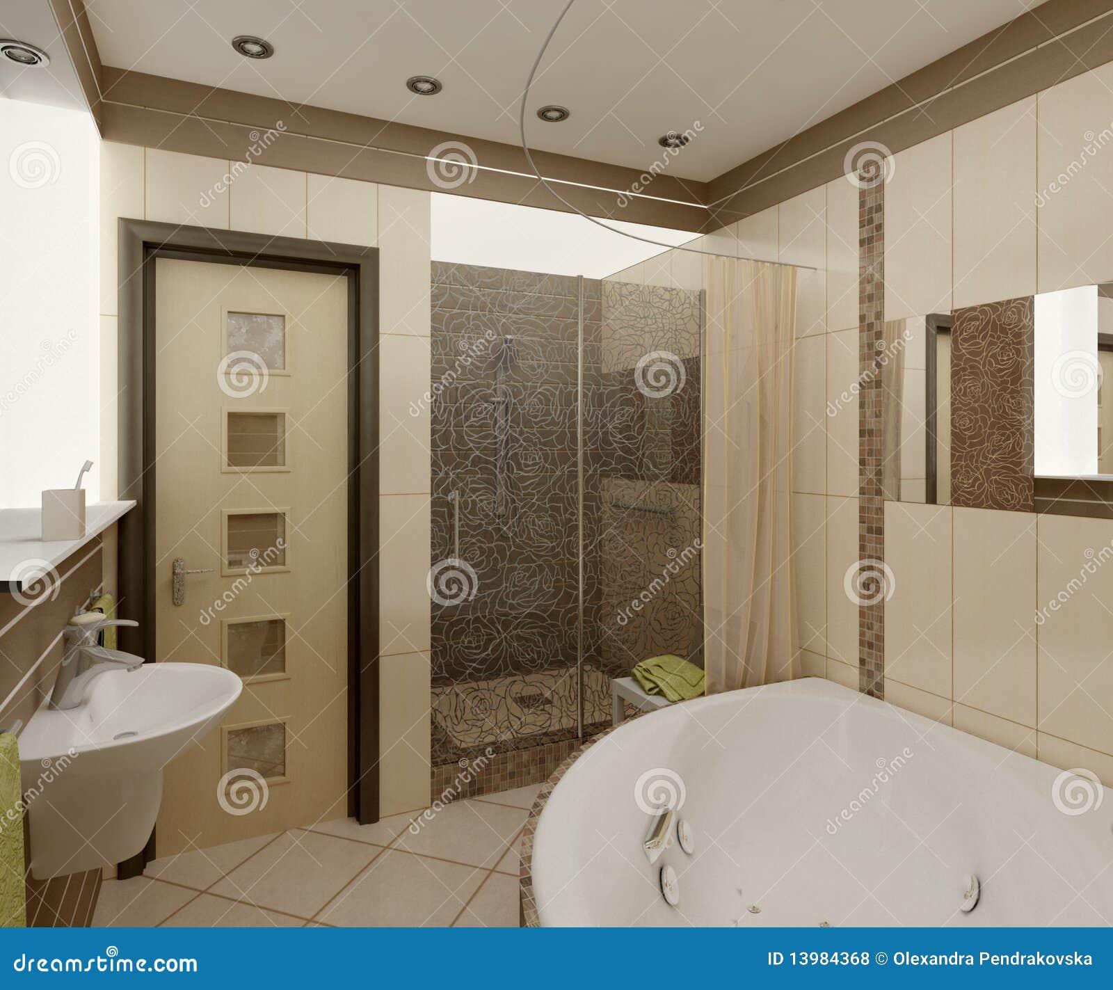 Stanza da bagno illustrazione di stock illustrazione di for Stanza da bagno