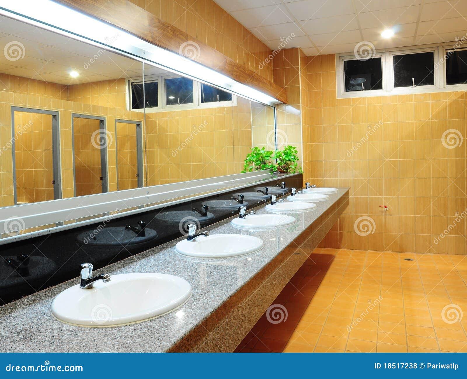 Stanza da bagno all ufficio