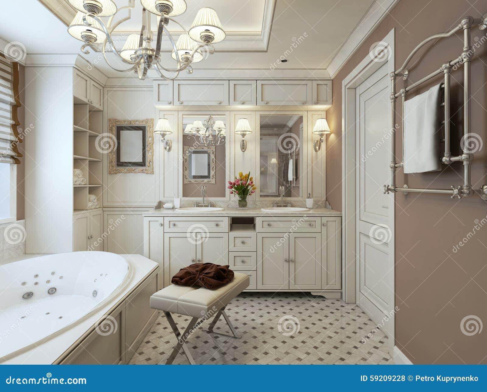 Stanza da bagno classica fotografia stock. Immagine di ... on Stanza Da Bagno  id=67800