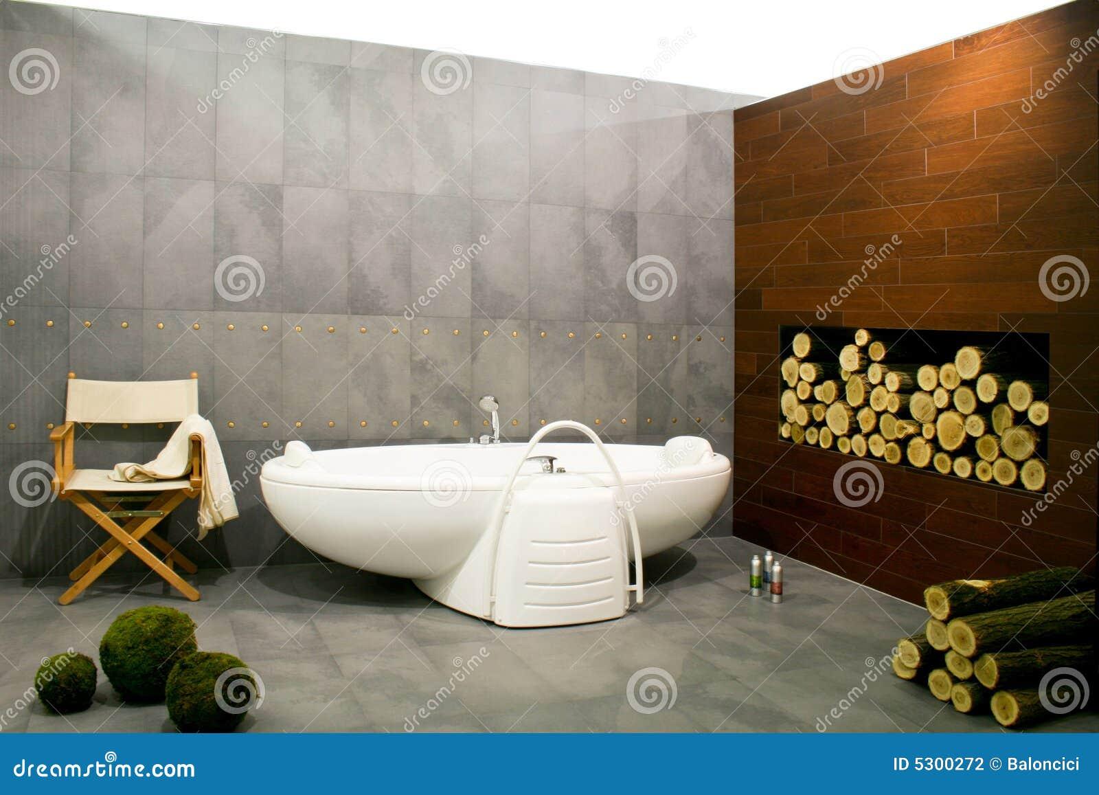 Download Stanza Da Bagno Con Il Libro Macchina Fotografia Stock - Immagine di lusso, bathtub: 5300272