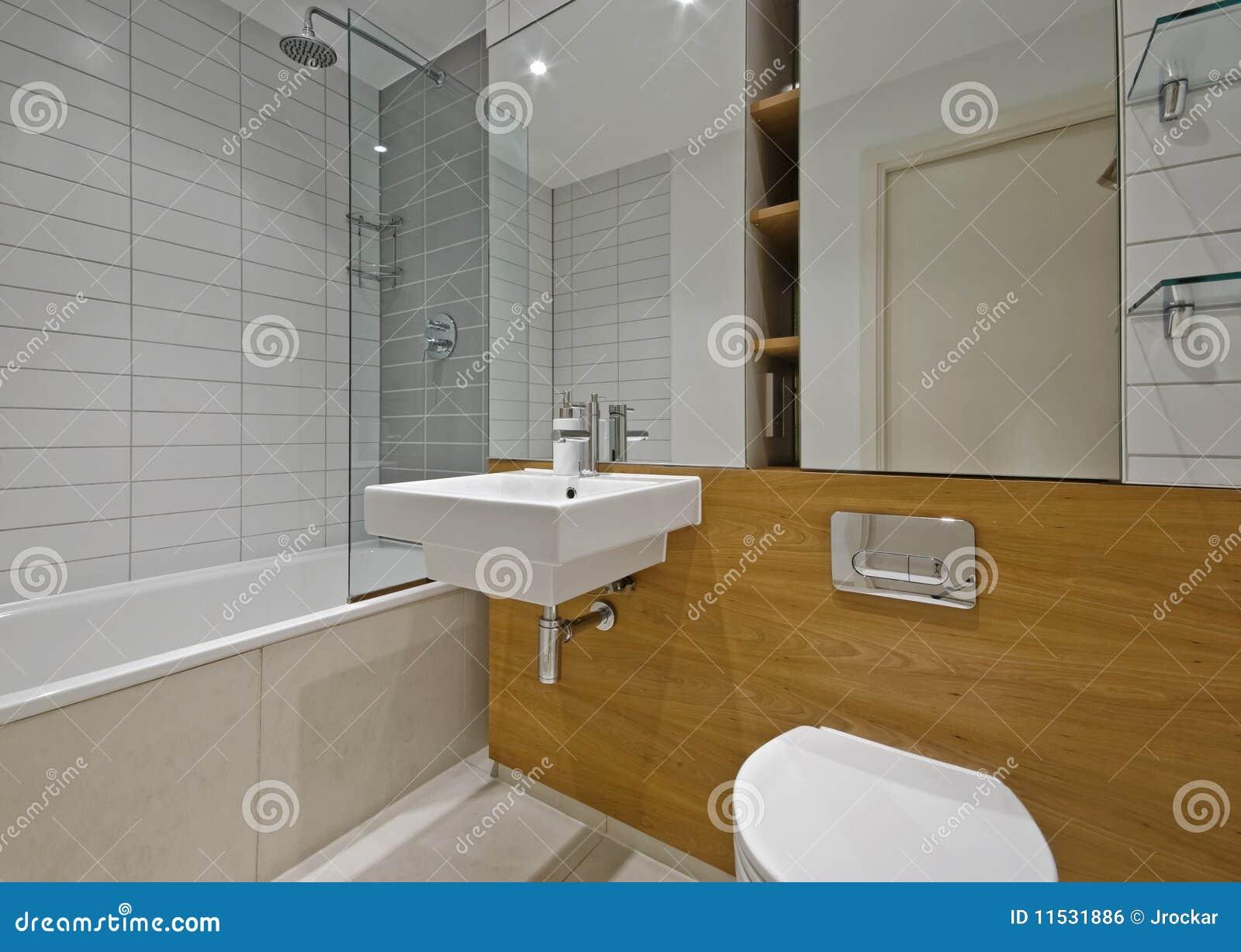 Stanza da bagno contemporanea fotografia stock immagine for Stanza da bagno