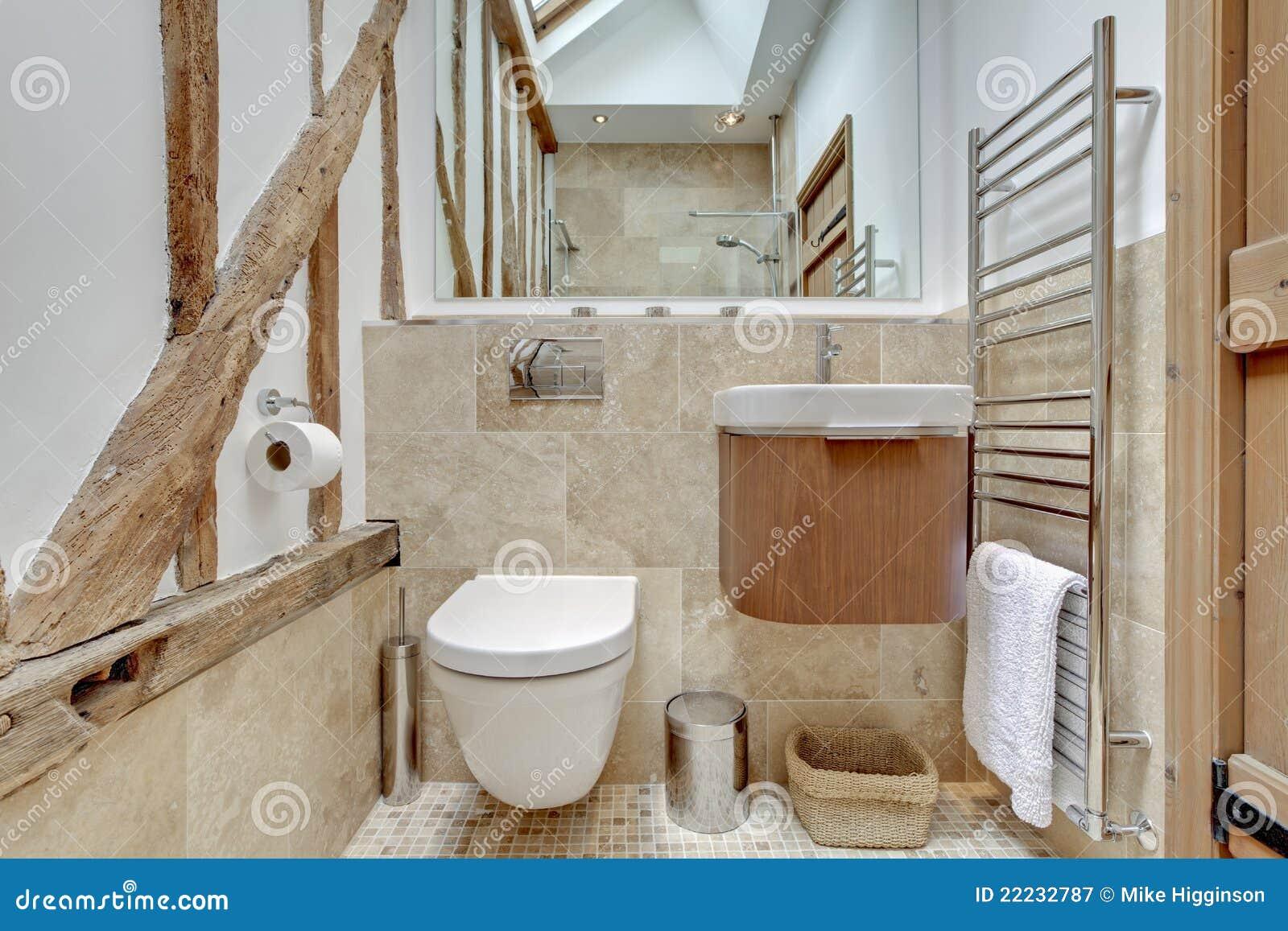 Sala Da Bagno Stile Contemporaneo : Stanza da bagno del cottage immagine stock immagine di nessuno