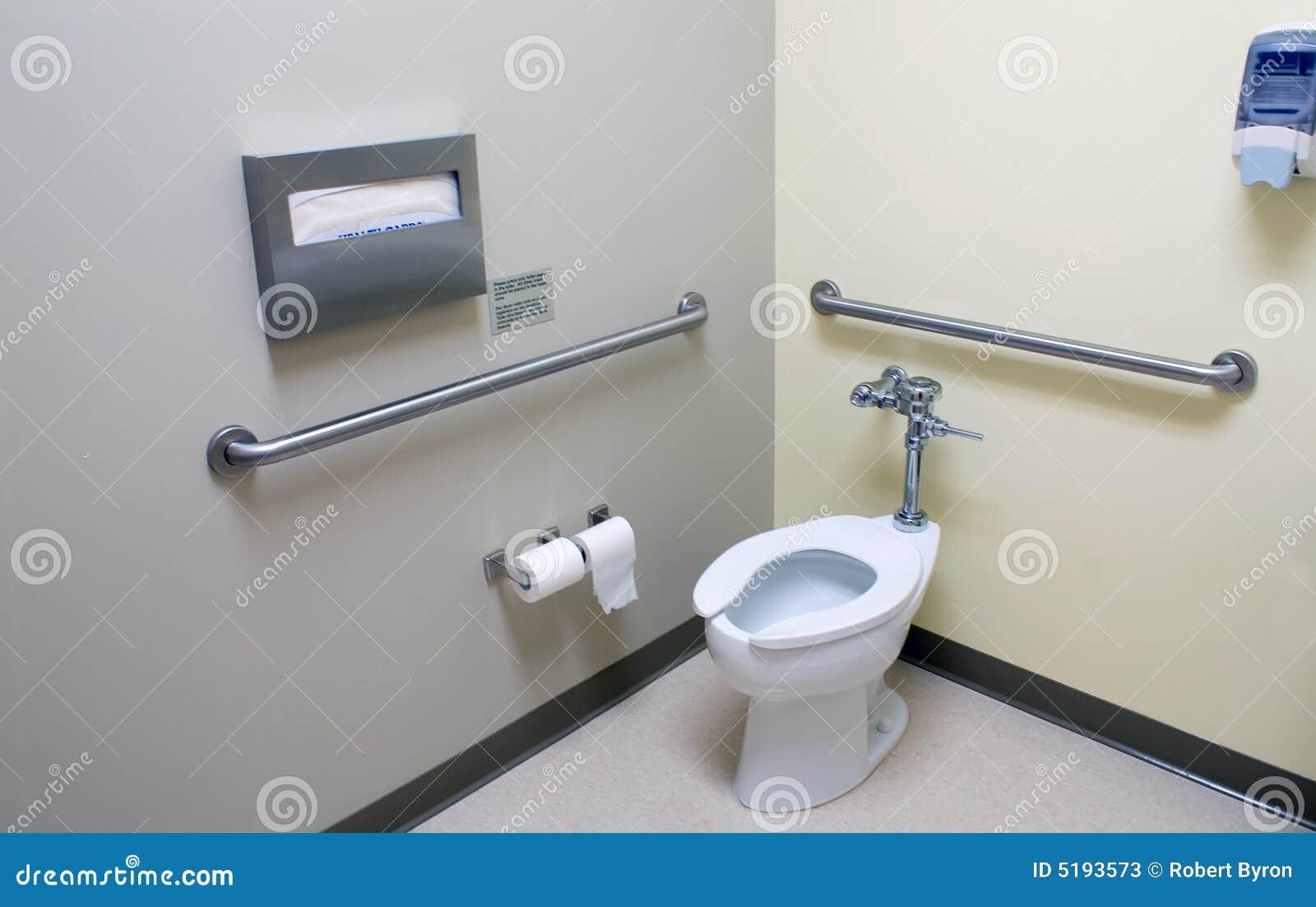 Stanza da bagno di handicap
