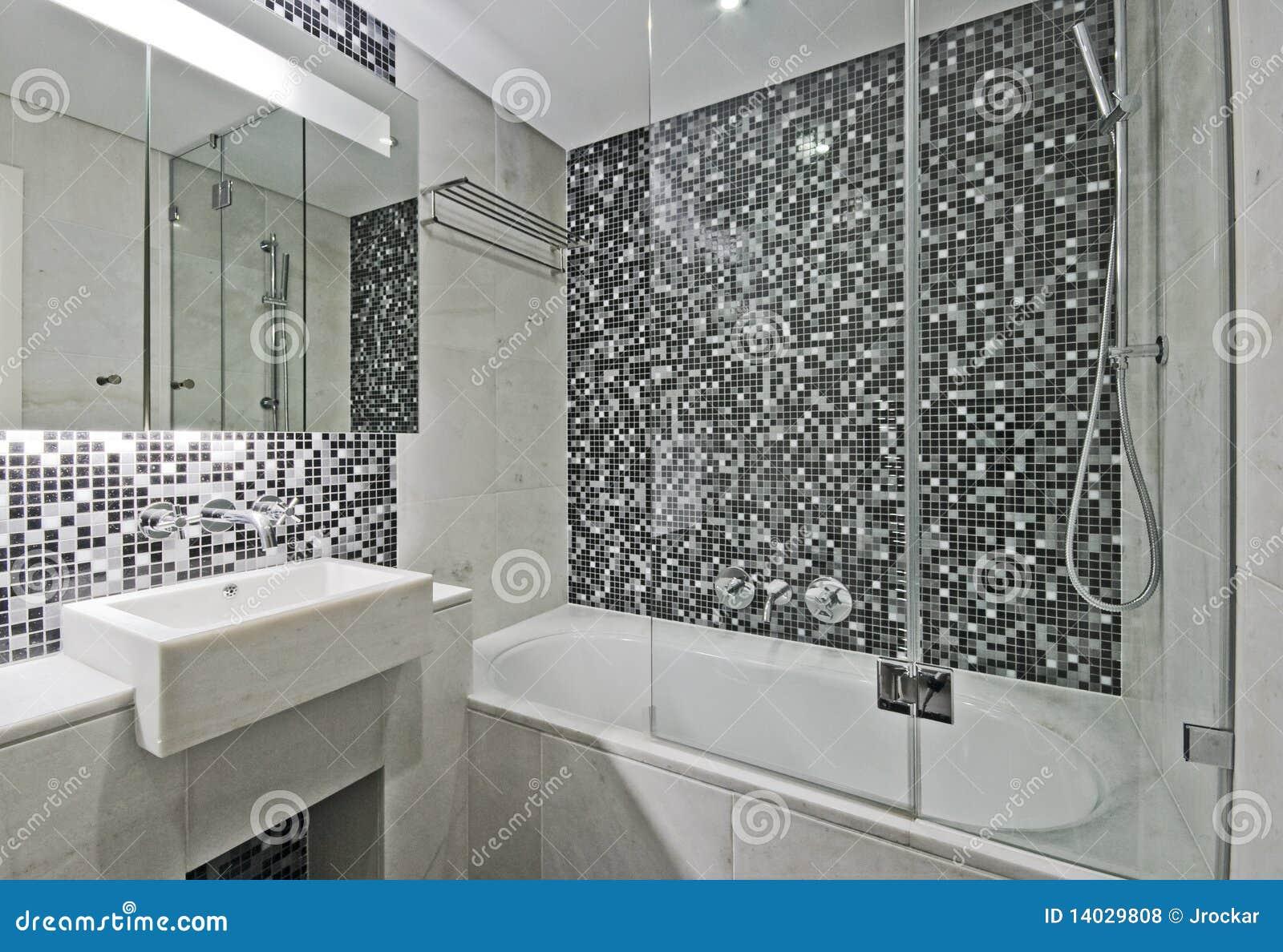 Stanza da bagno di lusso fotografie stock libere da diritti immagine 14029808 - Foto di bagno ...