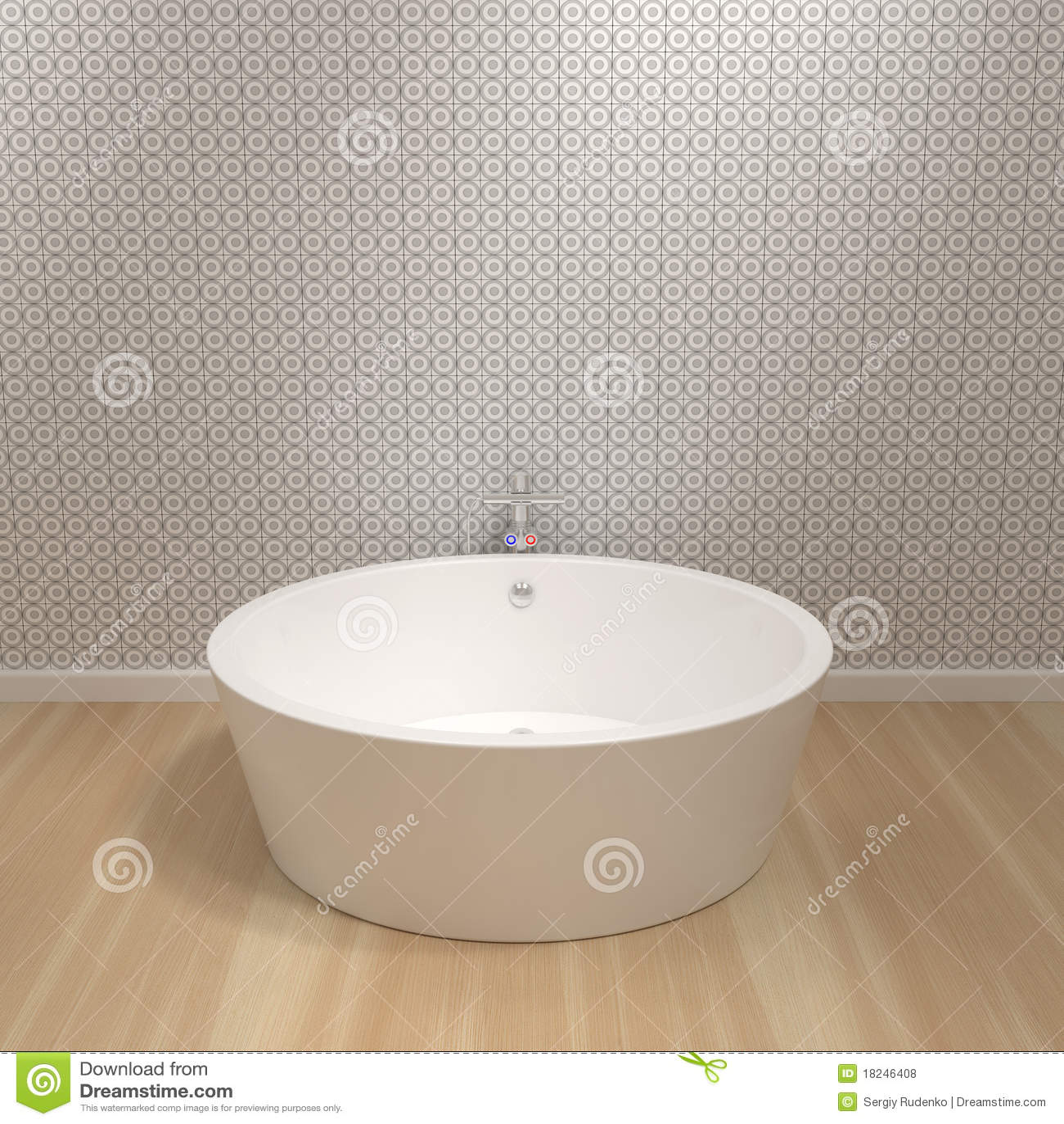 Stanza da bagno di lusso illustrazione di stock - Accessori da bagno di lusso ...