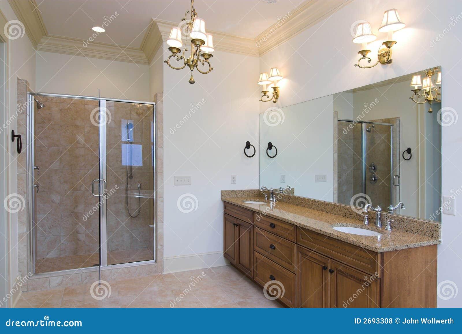 Stanza da bagno elegante fotografia stock immagine di - Stanza da bagno ...