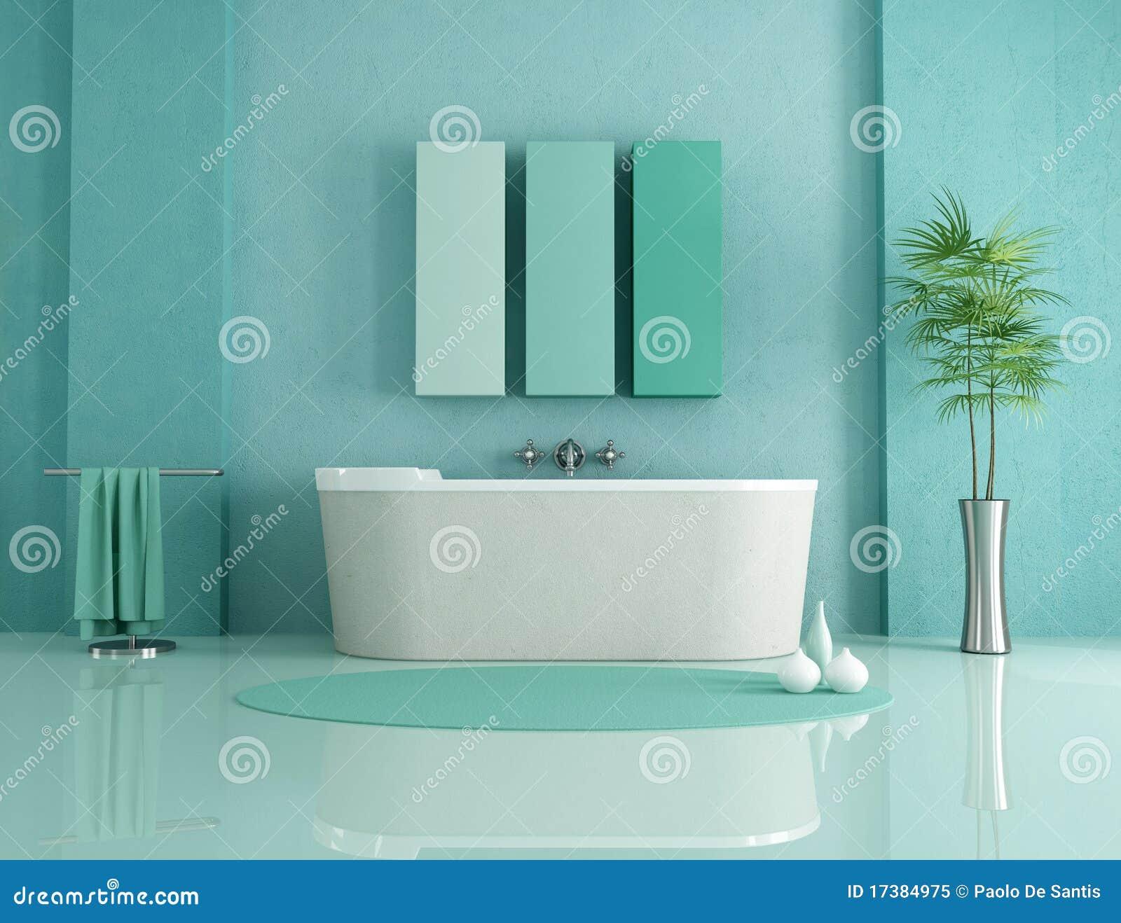 Stanza Da Bagno Minimalista Illustrazione di Stock - Illustrazione di pulito, salute: 17384975