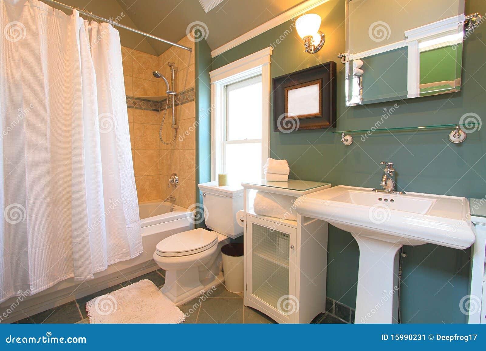 Stanza da bagno moderna immagine stock immagine di - Stanza da bagno ...