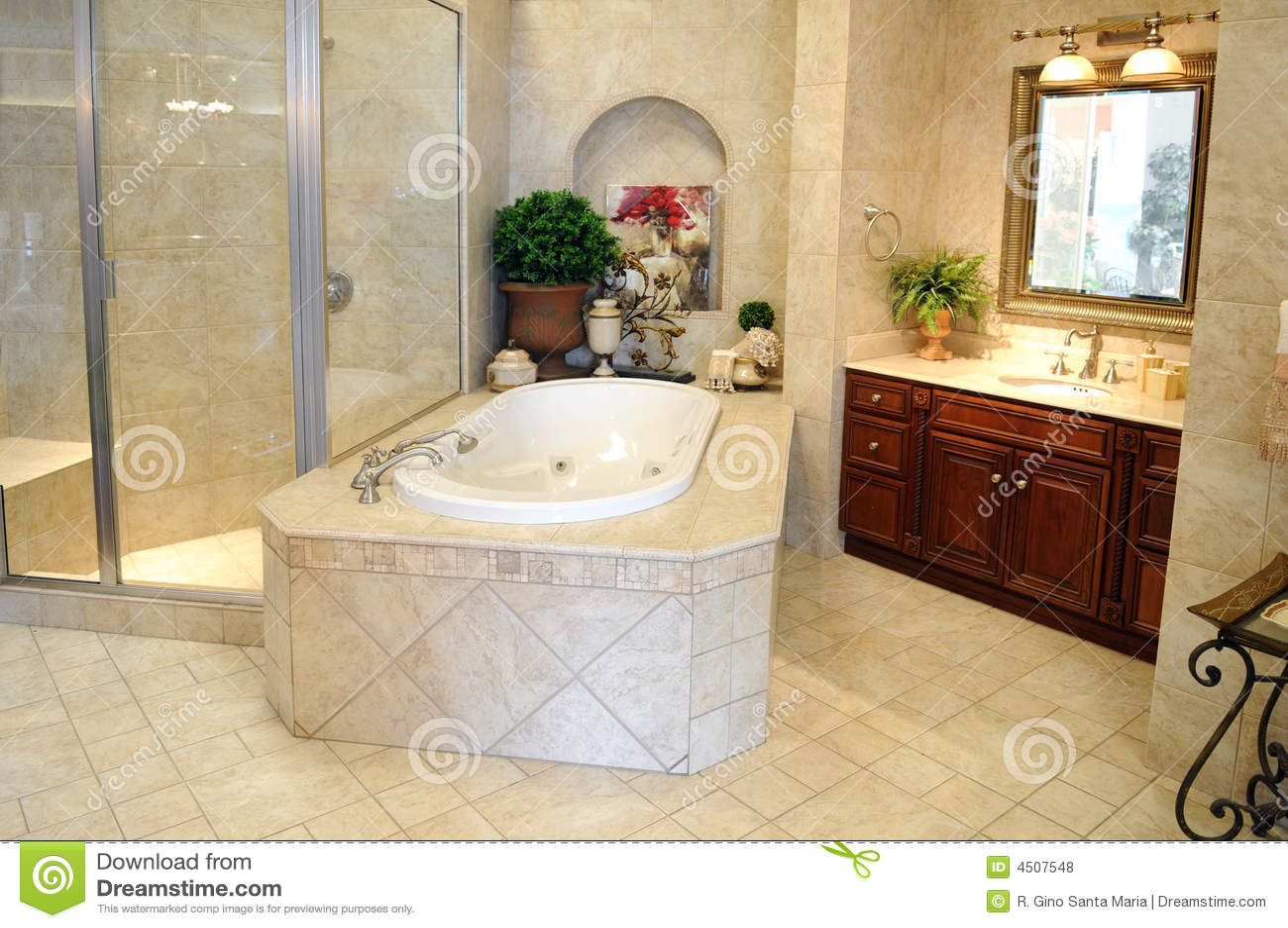 Stanza da bagno moderna fotografia stock immagine di for Stanza da bagno
