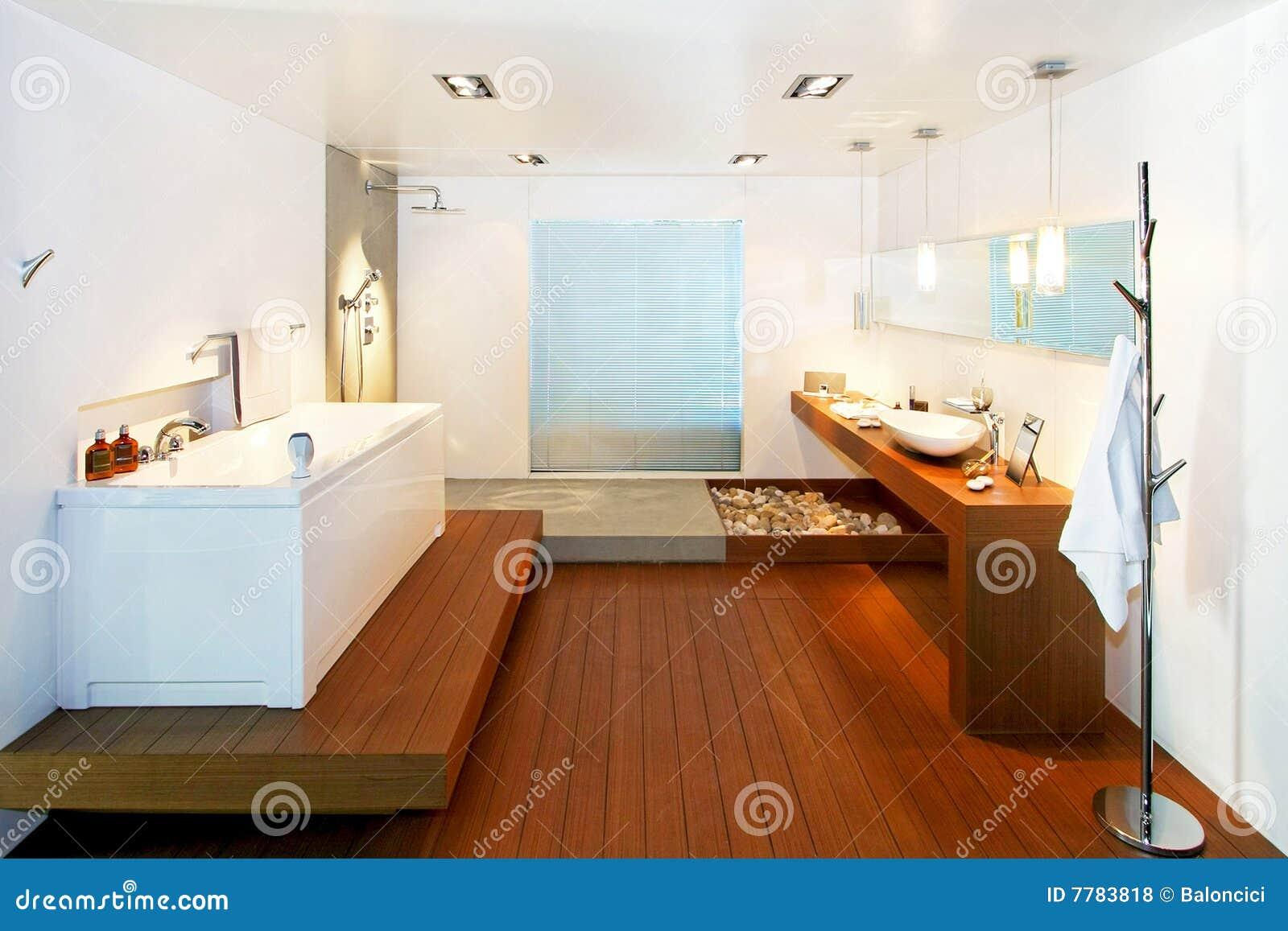 Bagno Stile Naturale : Stanza da bagno naturale fotografia stock. immagine di parchè 7783818
