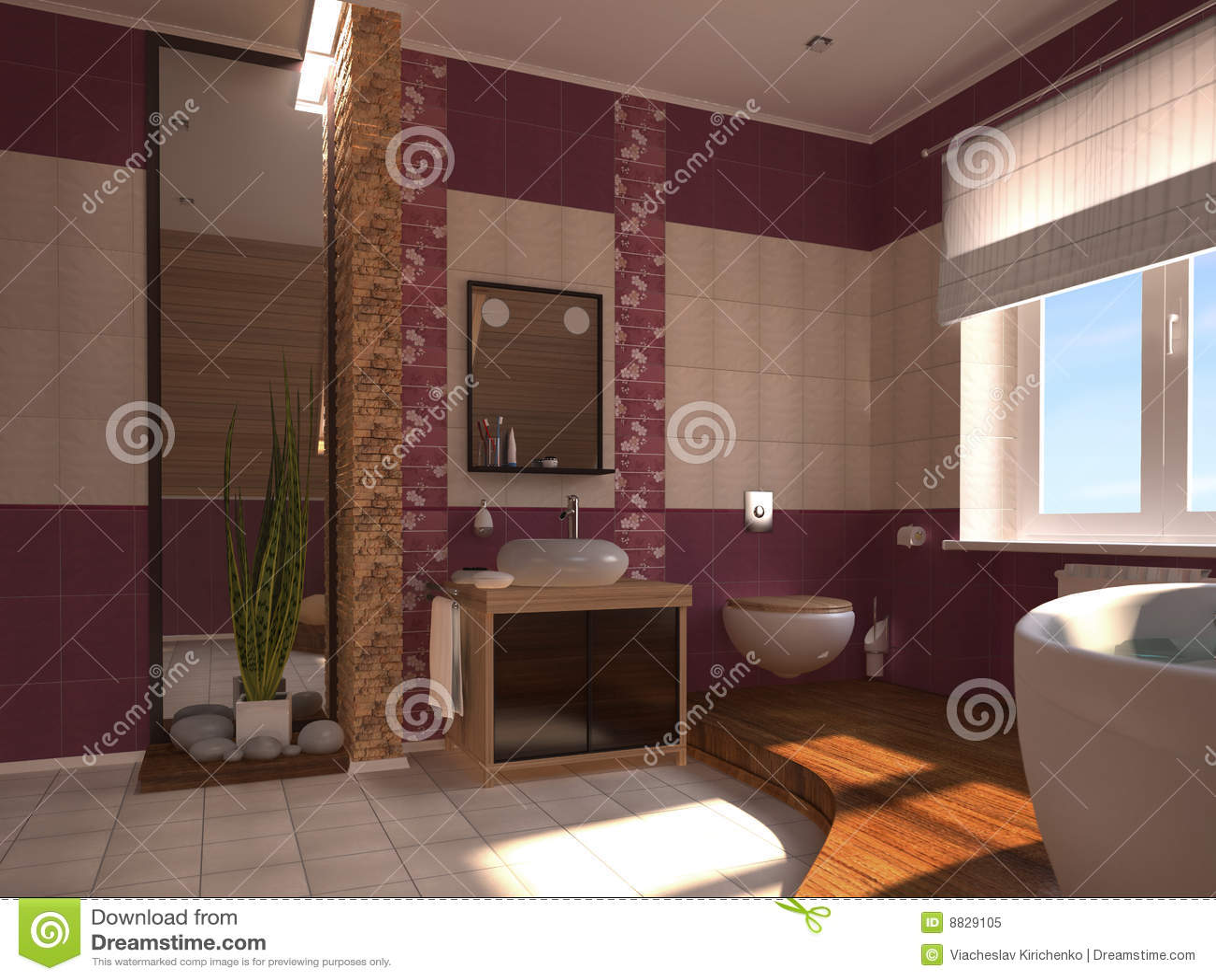 stanza da bagno orientale fotografia stock libera da diritti immagine 8829105. Black Bedroom Furniture Sets. Home Design Ideas