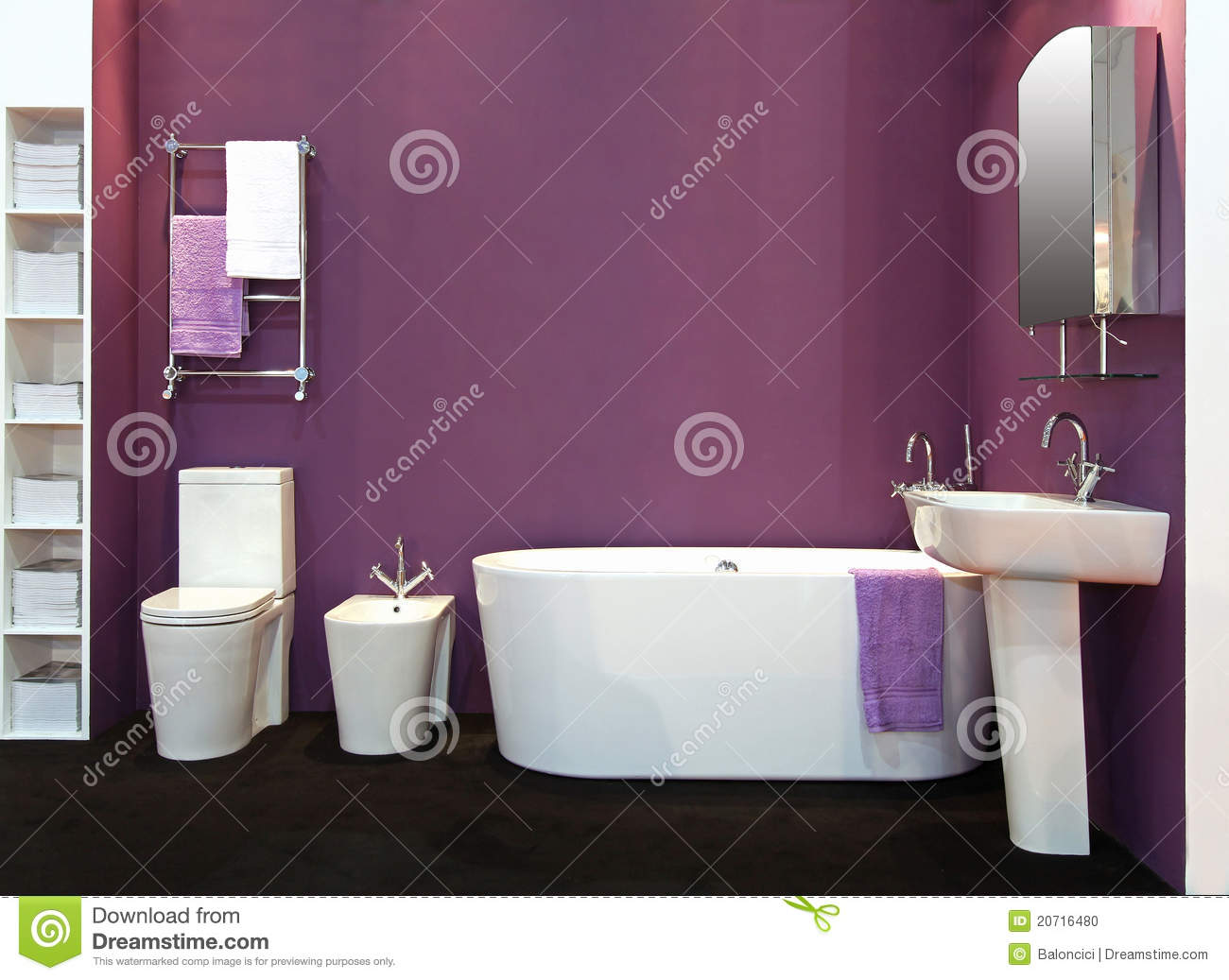 Bagno moderno viola ~ fatua.net for .