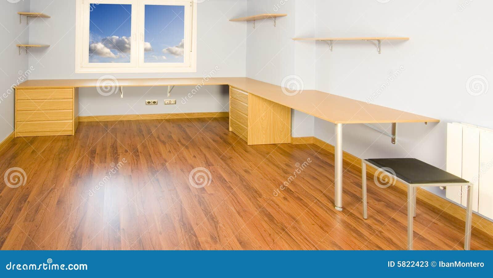 Stanza del lavoro d 39 ufficio immagine stock immagine di for Stanza uso ufficio