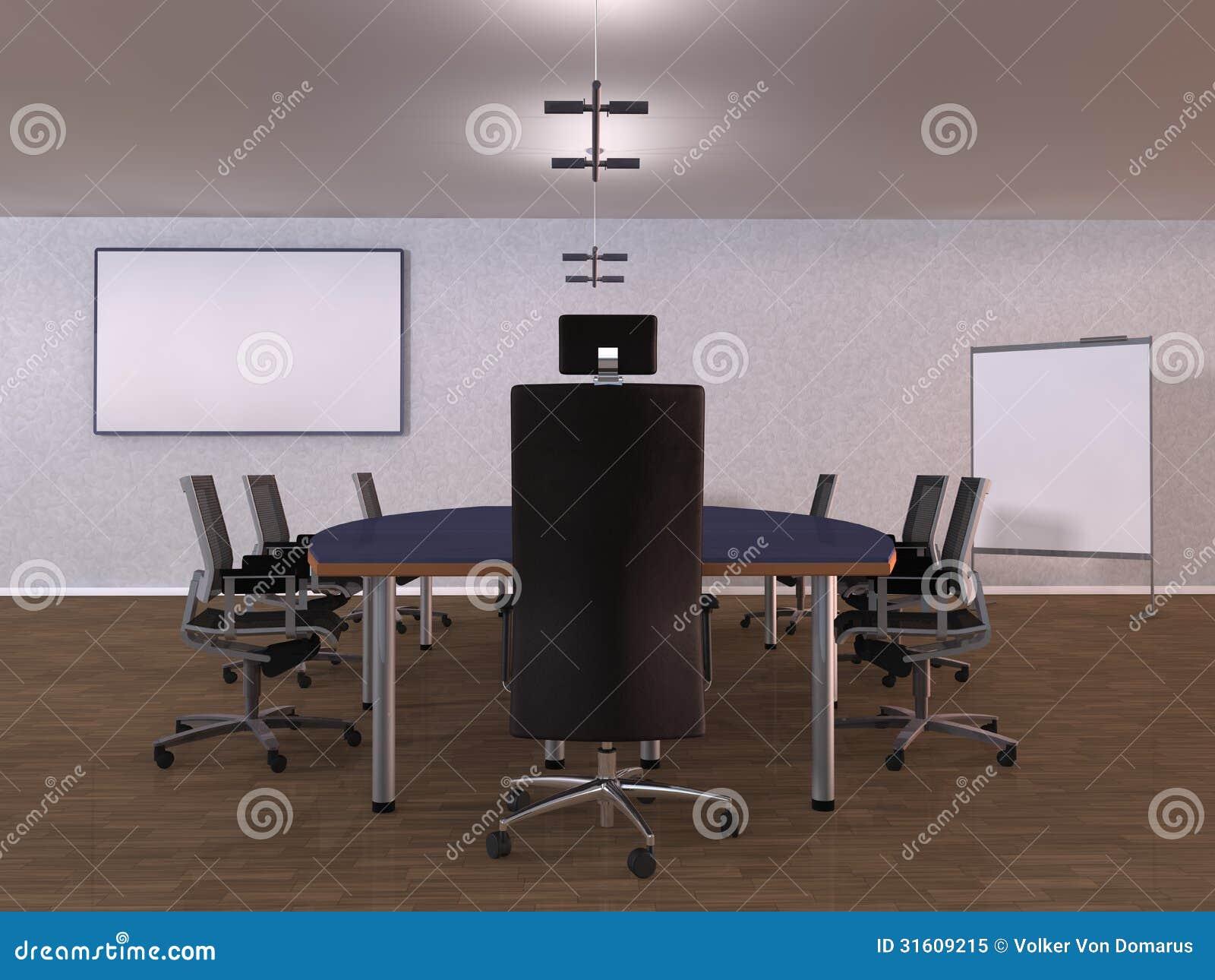 Stanza dell 39 ufficio dell 39 illustrazione illustrazione di for Design stanza ufficio