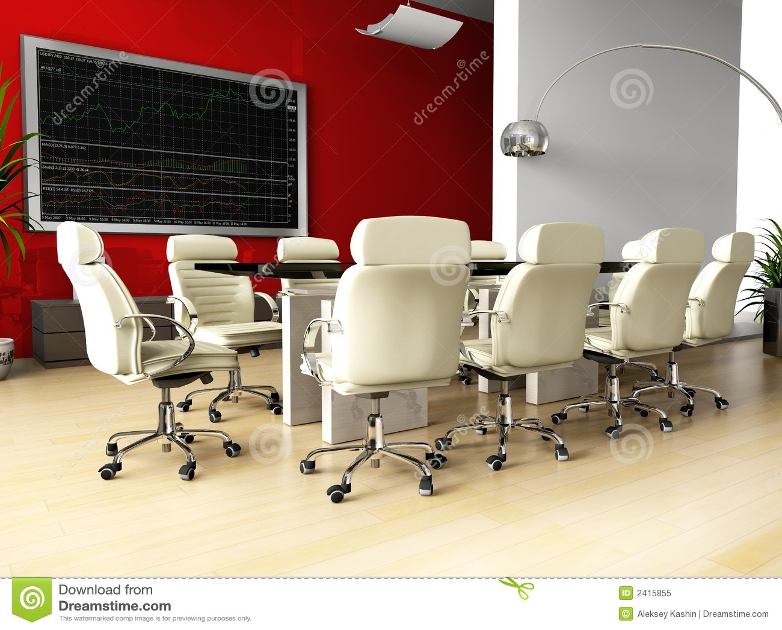 Stanza della trattativa in ufficio immagine stock for Stanza uso ufficio