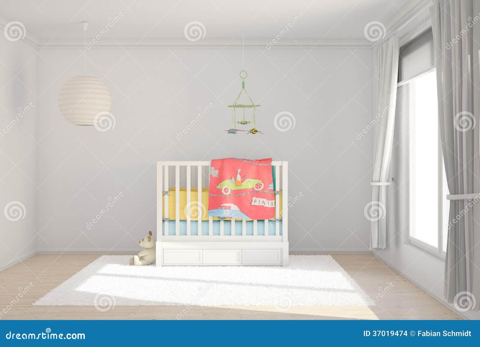 Stanza di bambini con i giocattoli
