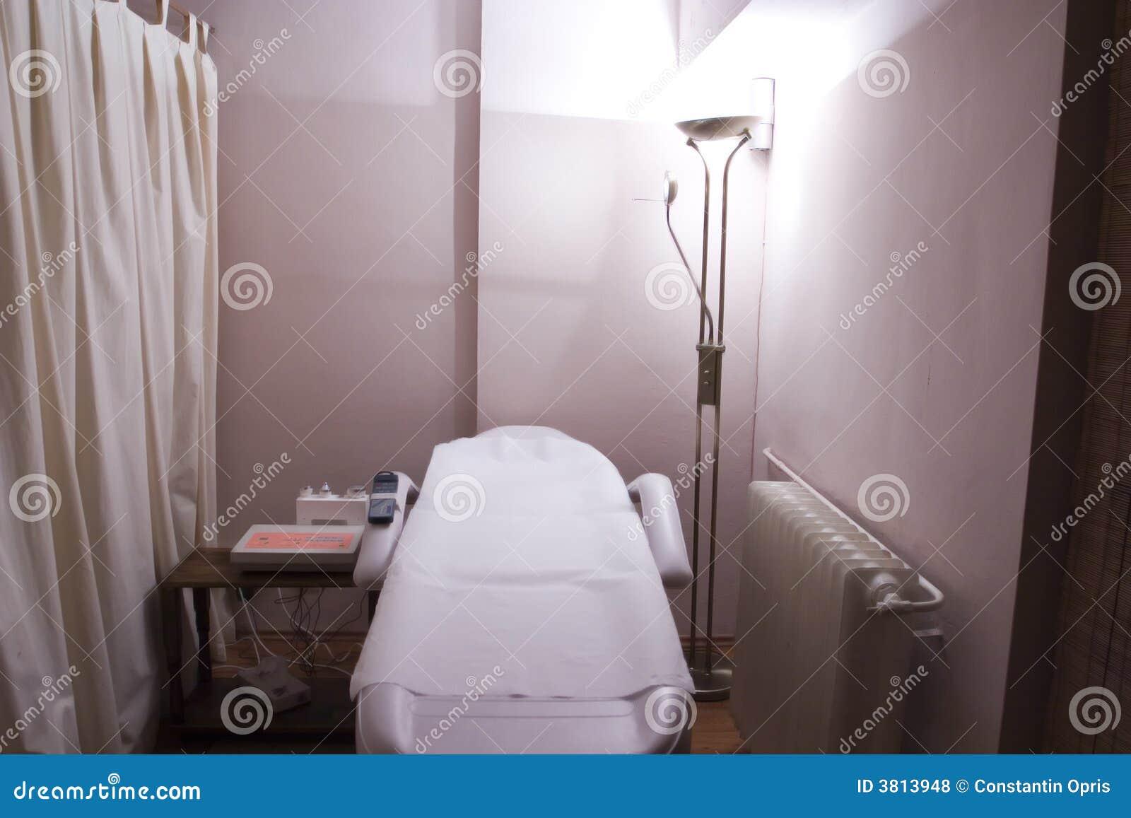 Stanza di terapia in stazione termale
