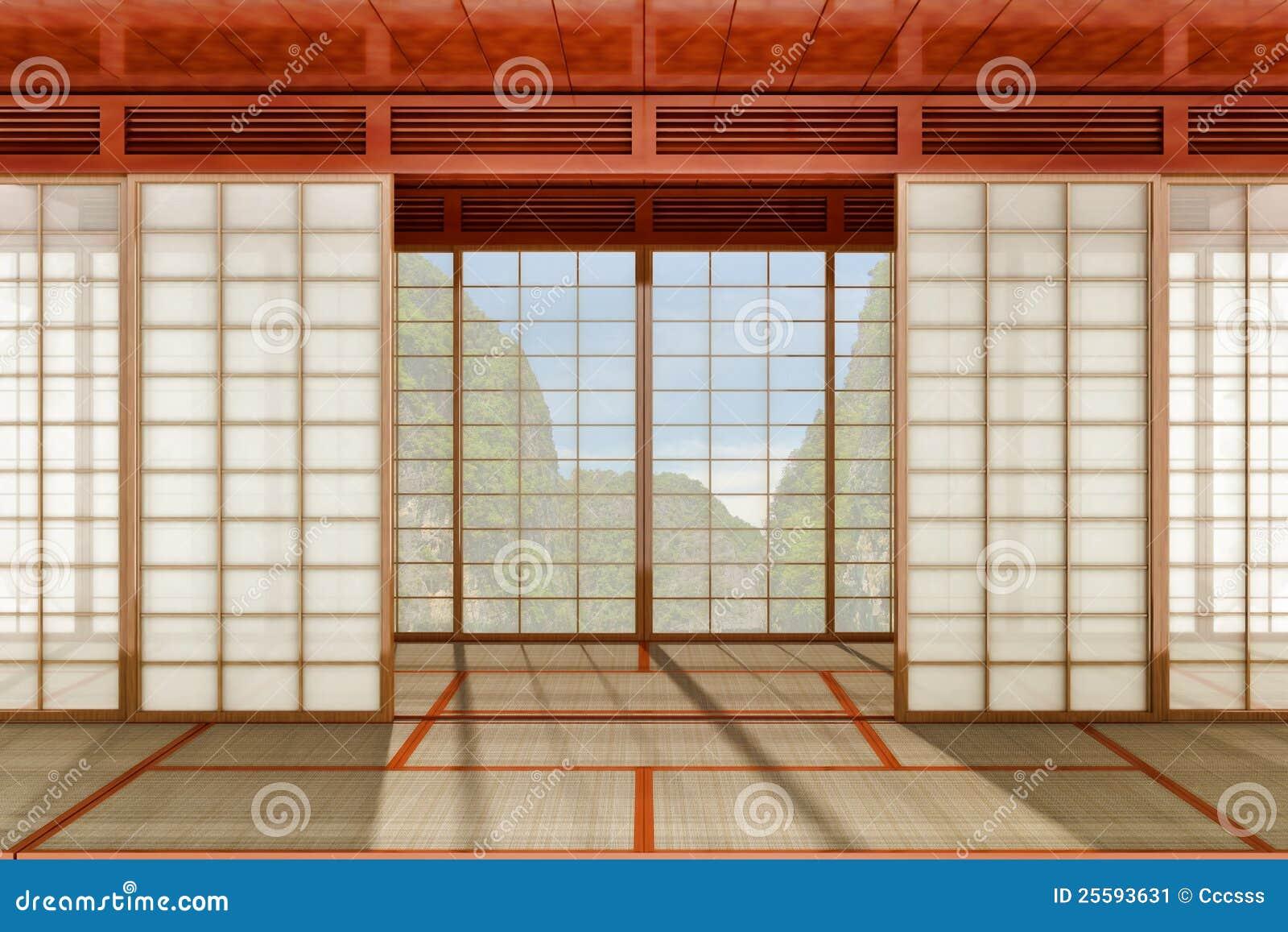 stanza giapponese illustrazione di stock illustrazione di