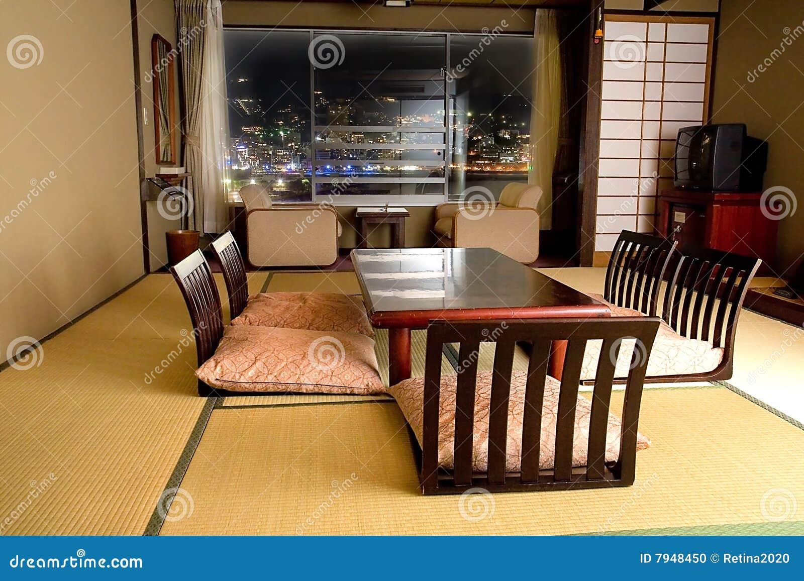 stanza giapponese tradizionale fotografia stock immagine
