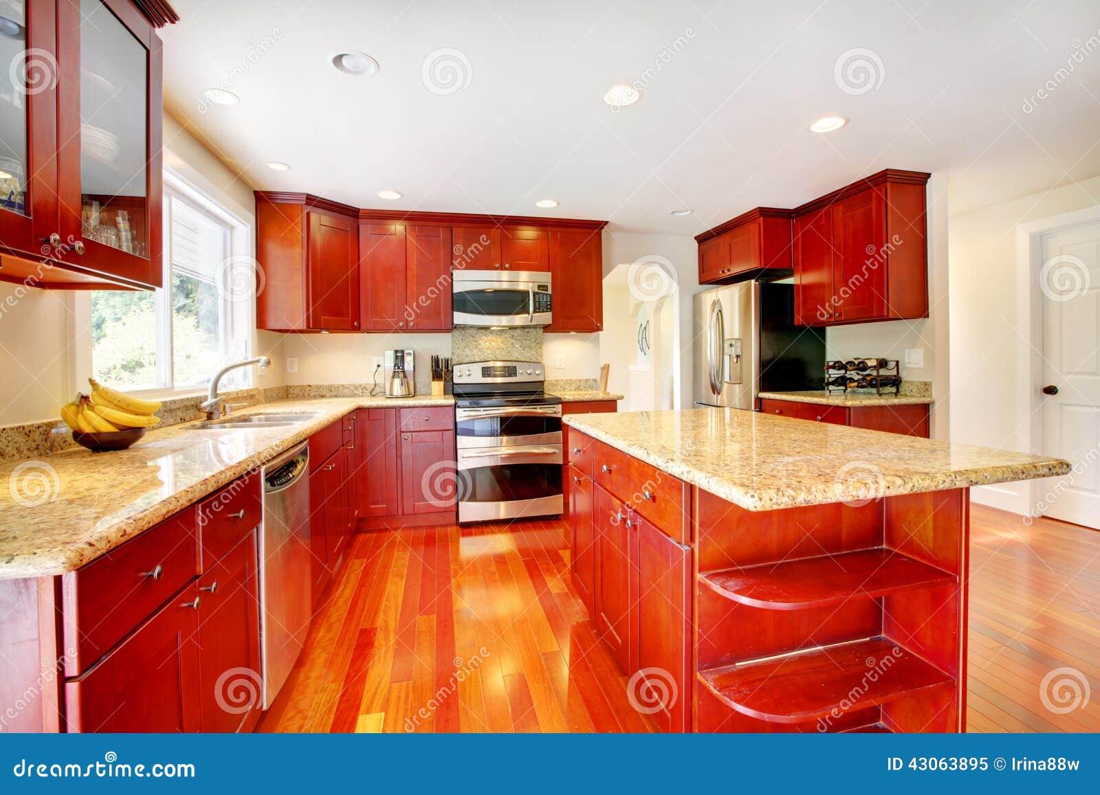 Parete Rossa Cucina. Best Elegant I Colori Come Il Rosso E ...