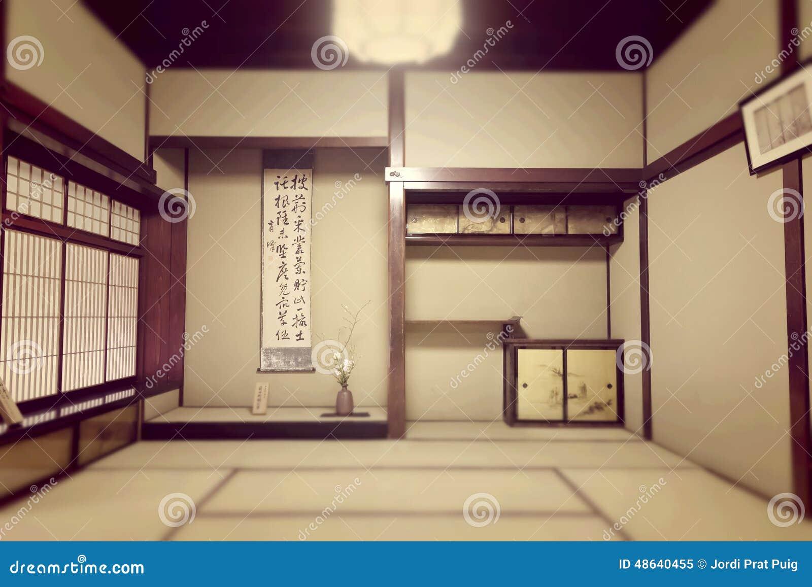 Stanza ryokan giapponese