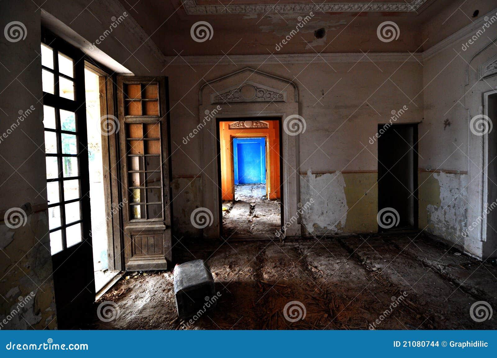 Stanze colorate annata immagini stock immagine 21080744 - Stanze colorate casa ...