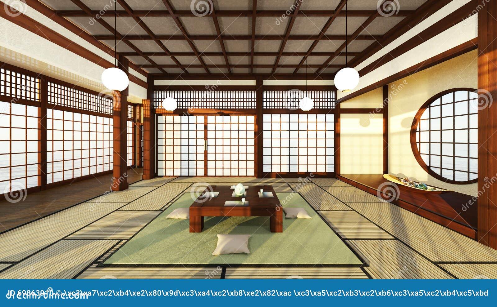 Stanze di stile giapponese illustrazione di stock for Stanza giapponese