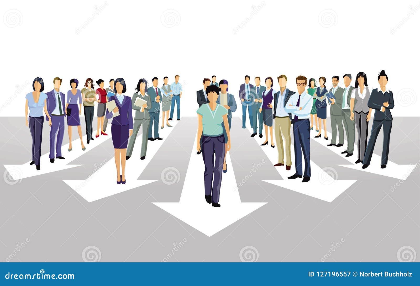 Stap voorwaarts richting samen