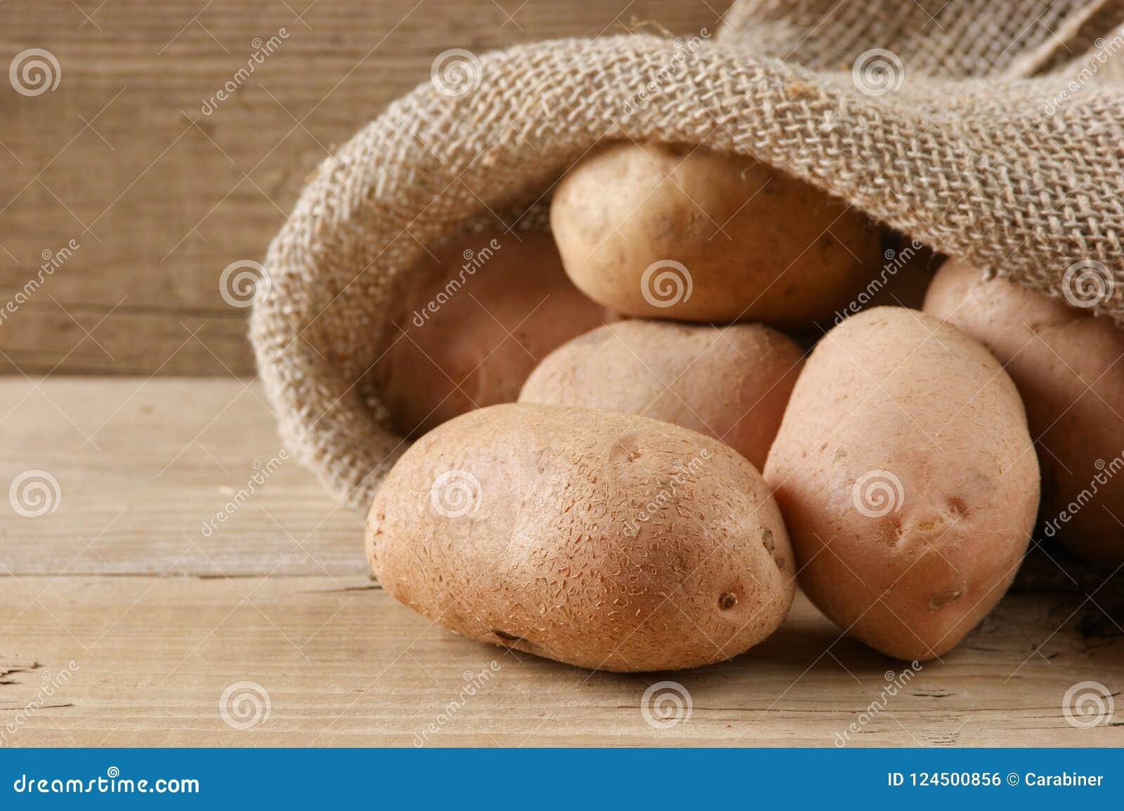 Stapel der Kartoffeln
