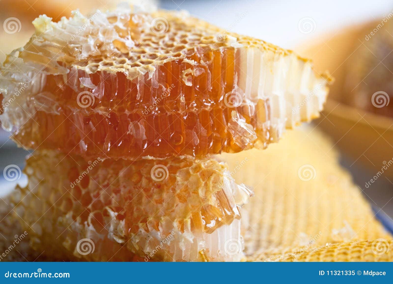 Stapel des Honigs
