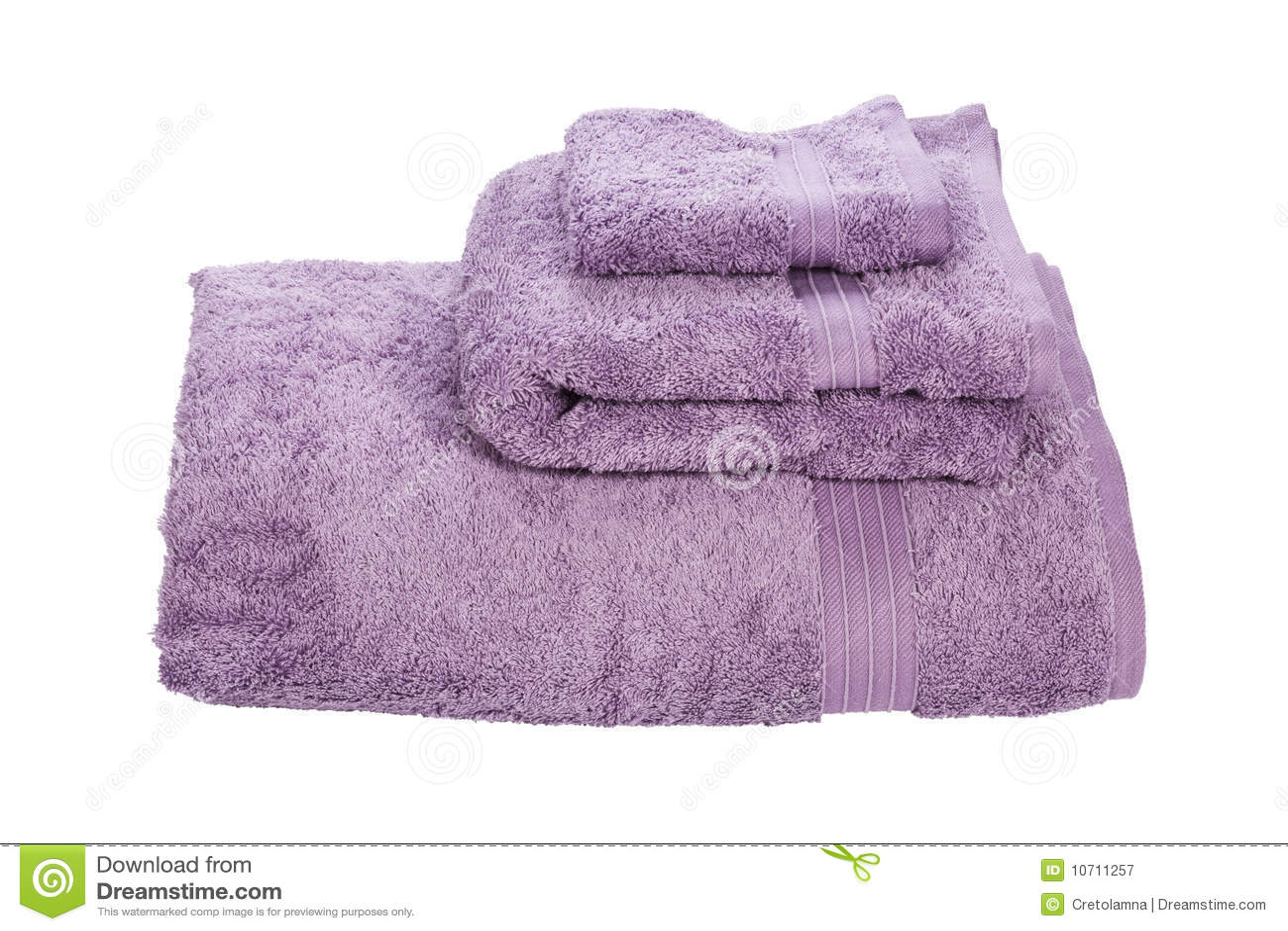 Stapel handdoeken.