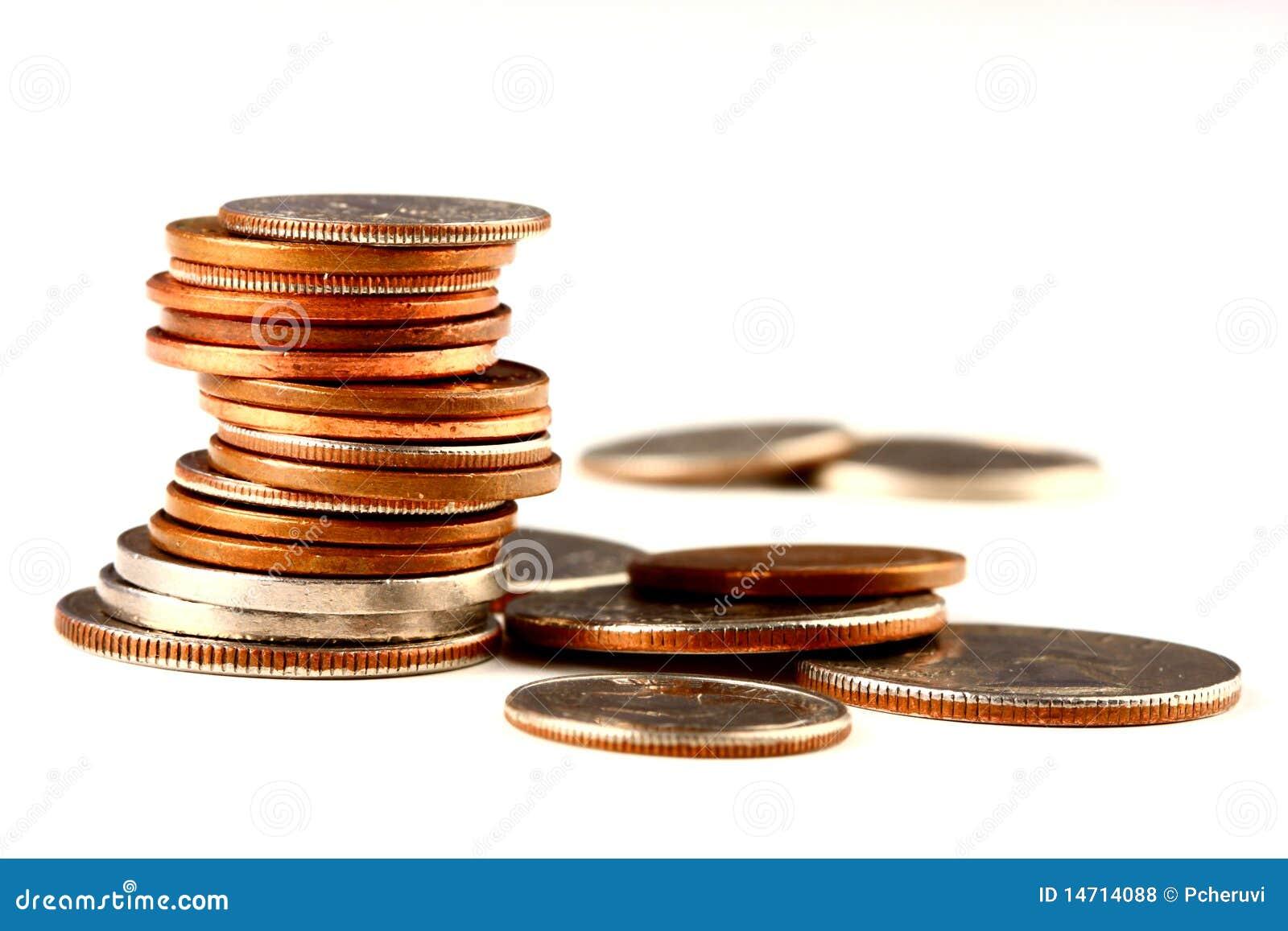 Stapel muntstukken