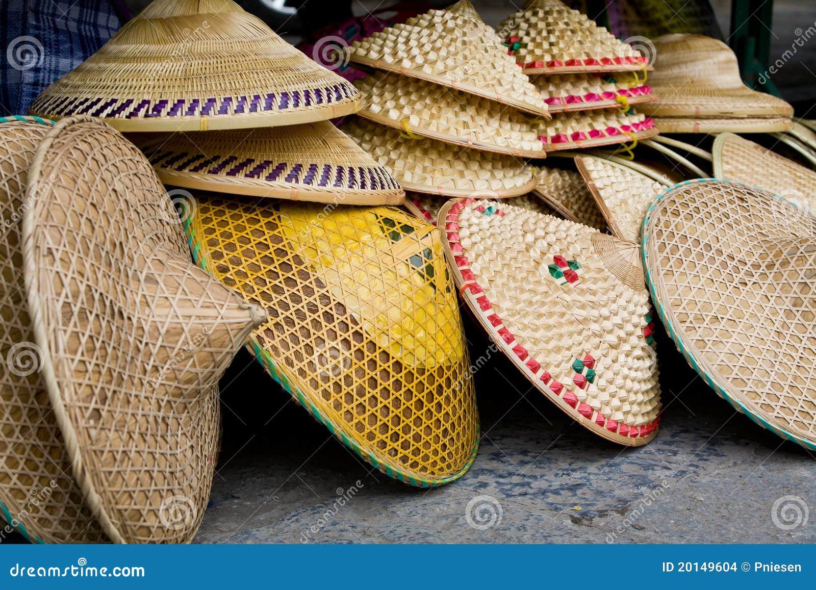 Chinesische Hüte