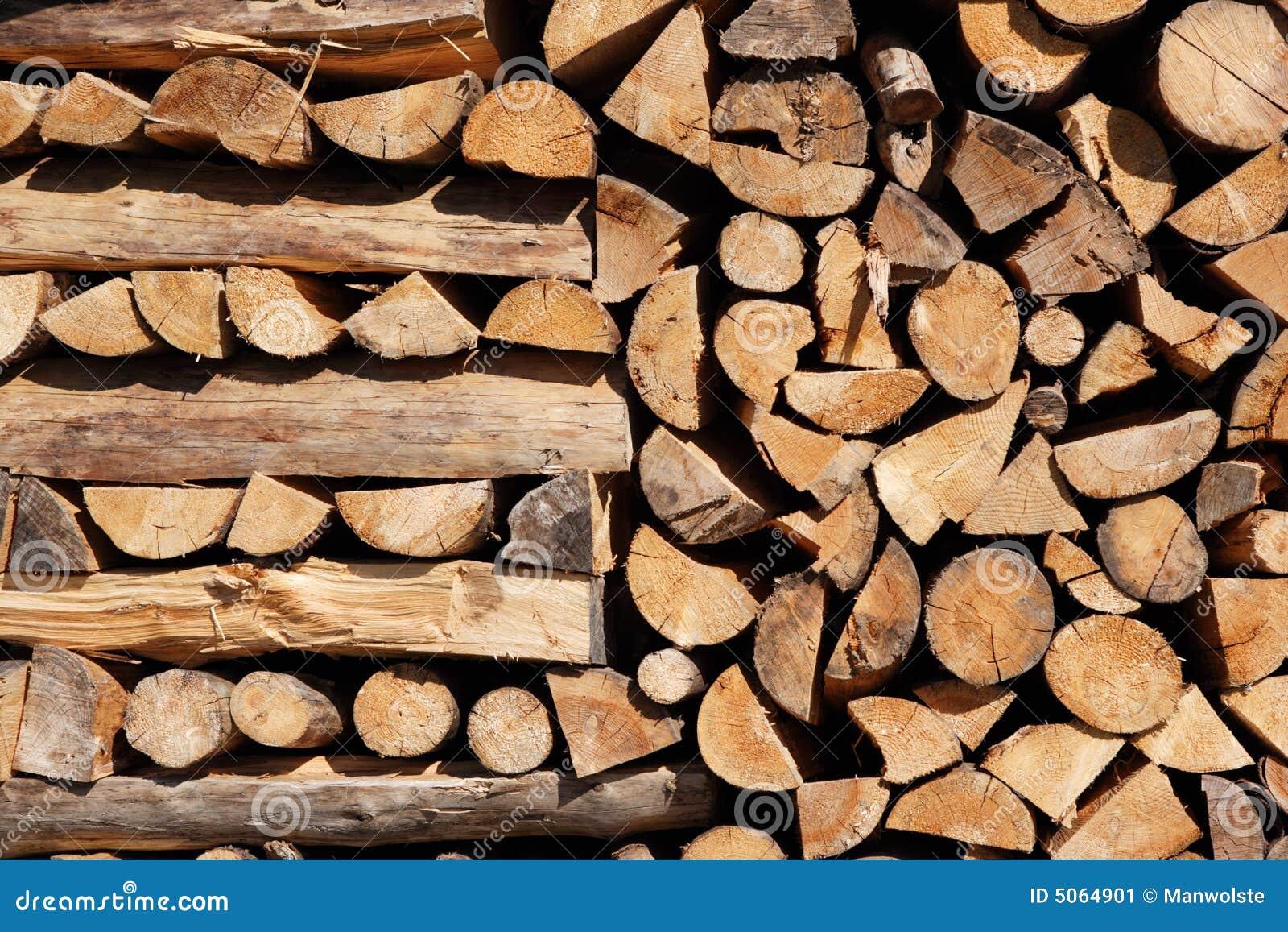 Stapel van hout