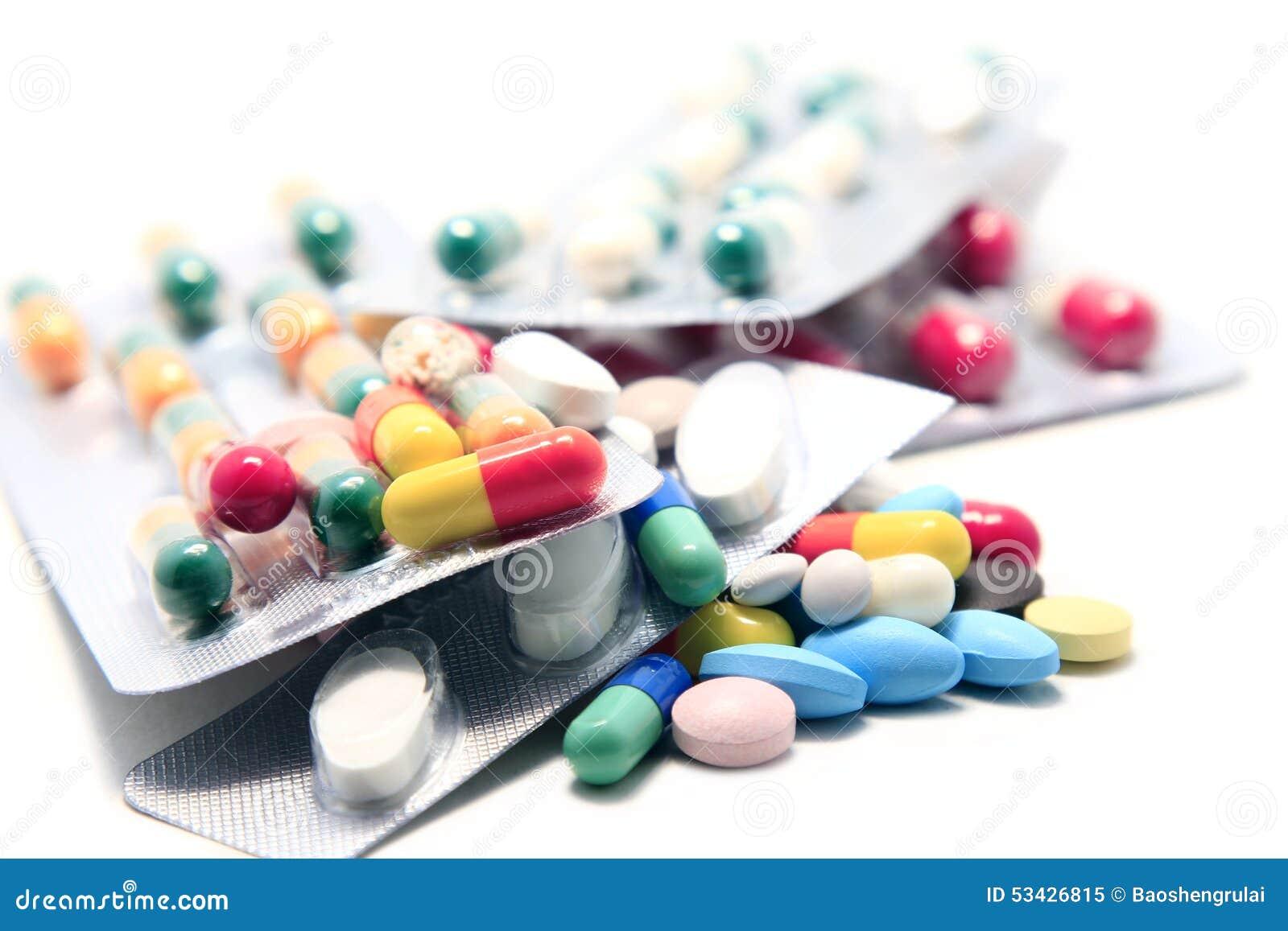 Stapel van Pillen en Capsules 1
