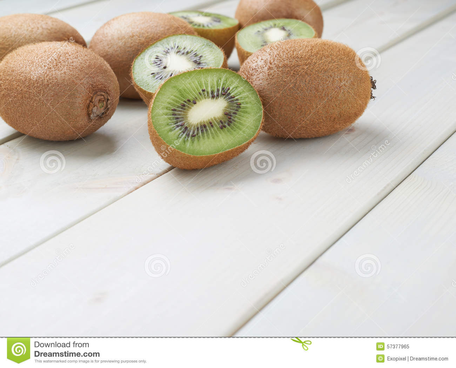 Stapel van veelvoudige kiwifruits