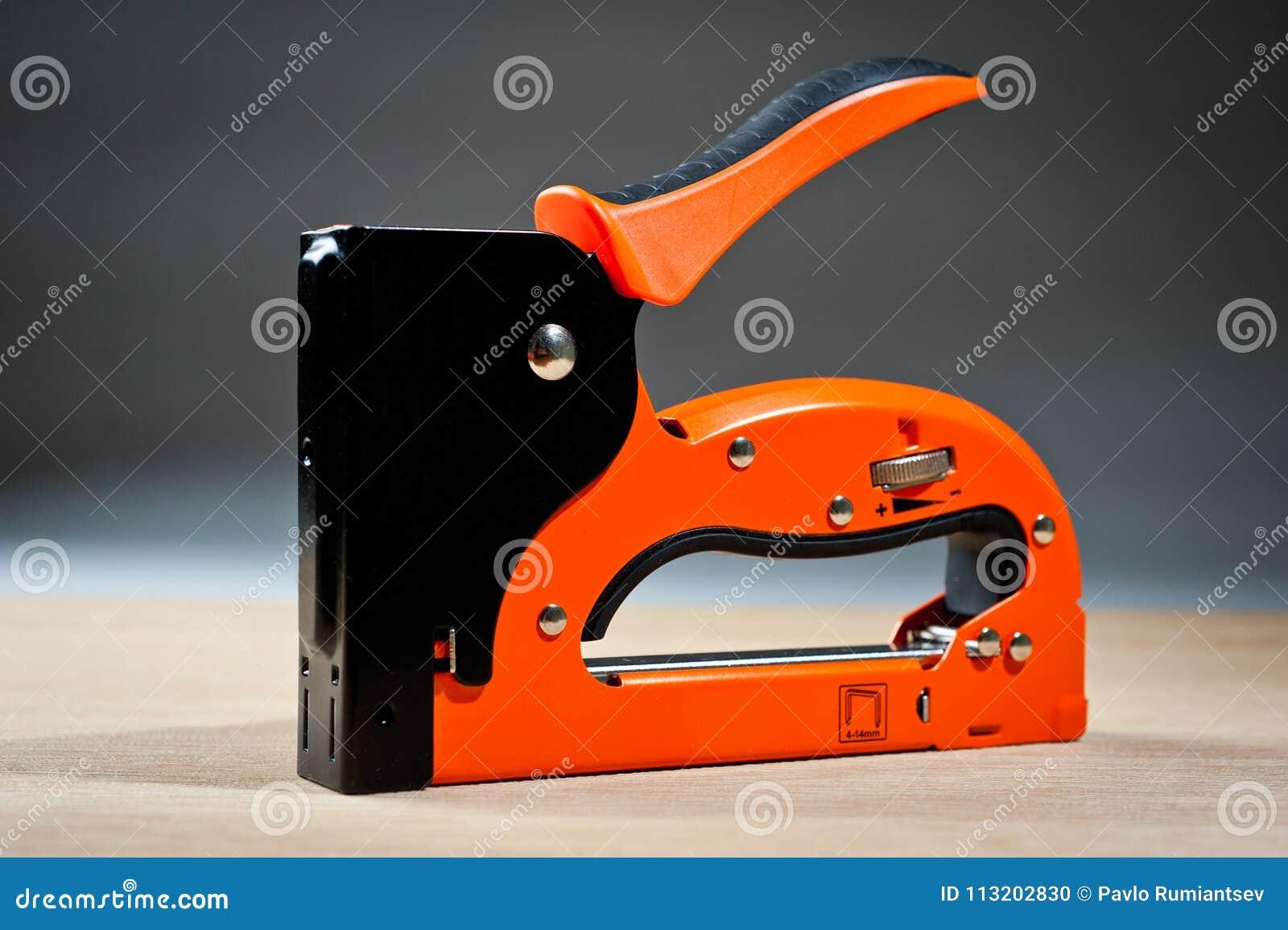 Stapler household new orange, reliable