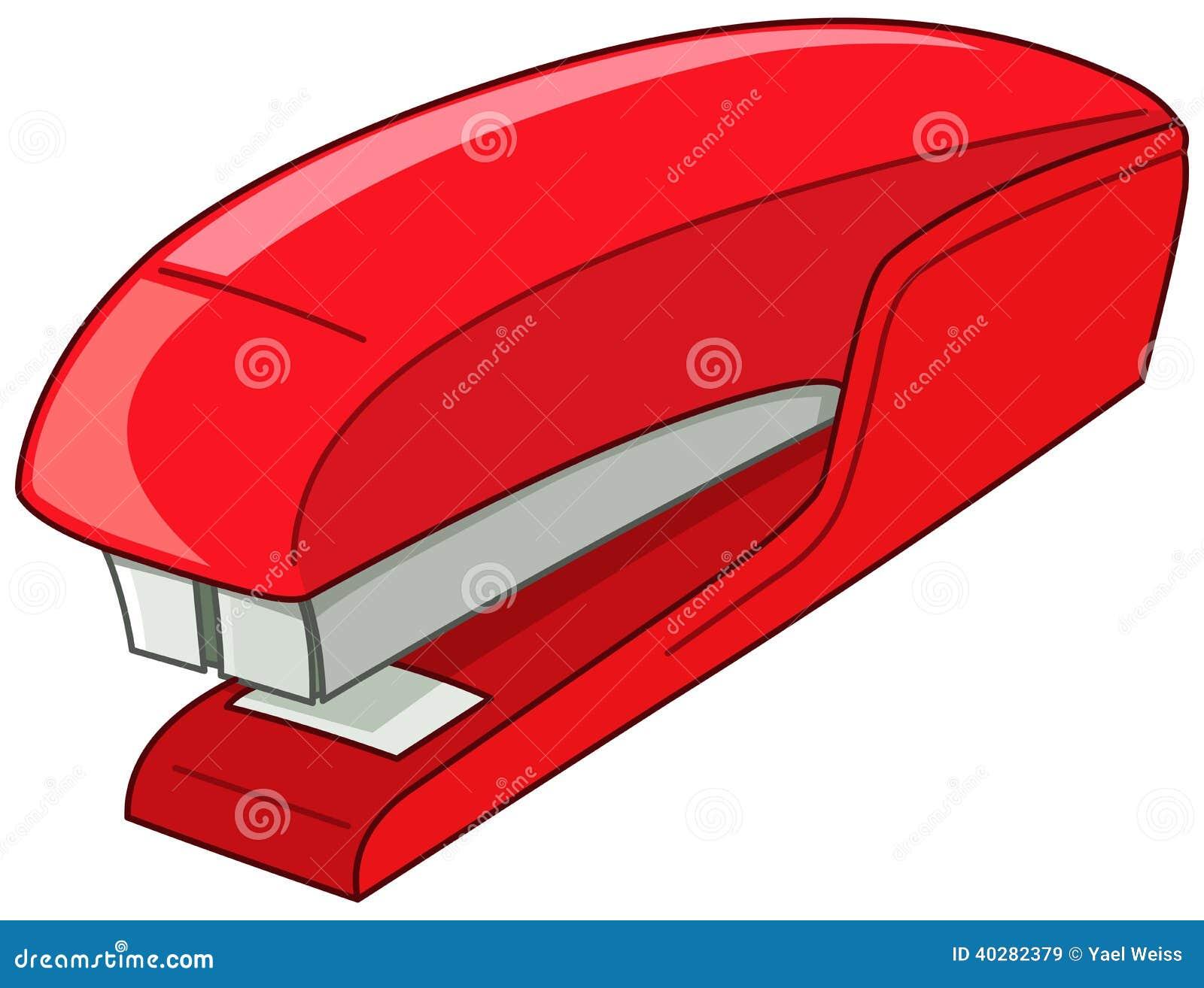 Stapler Stock Vector Image Of Metal Paper Bind