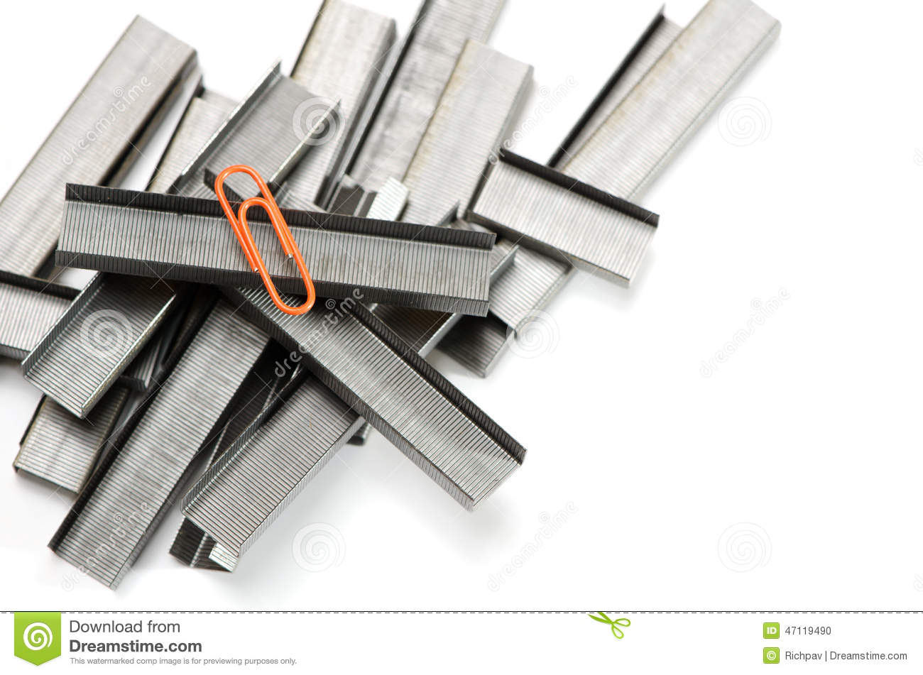 Stapler wire stock photo. Image of hardware, supply, outstanding ...