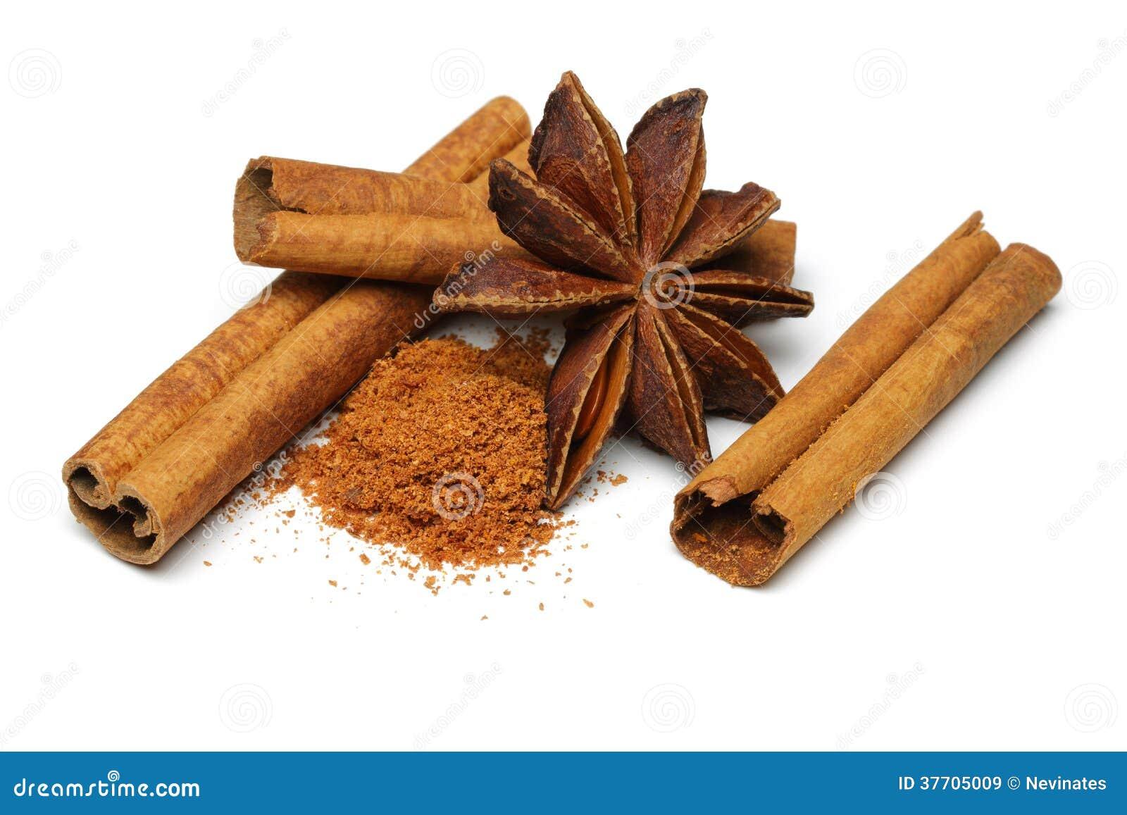 Cinnamon, Star Anise, Rock Sugar, Macadamia Nuts, Nuts ...