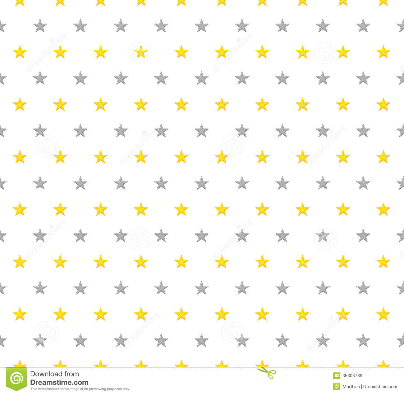 The abstract background made out of yellow and grey stars.